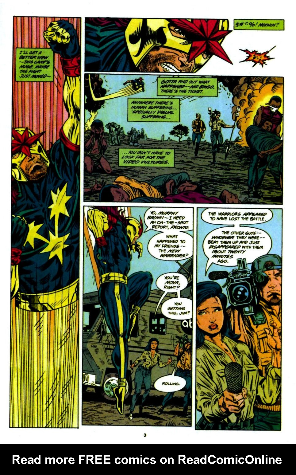 The New Warriors Issue #55 #59 - English 4