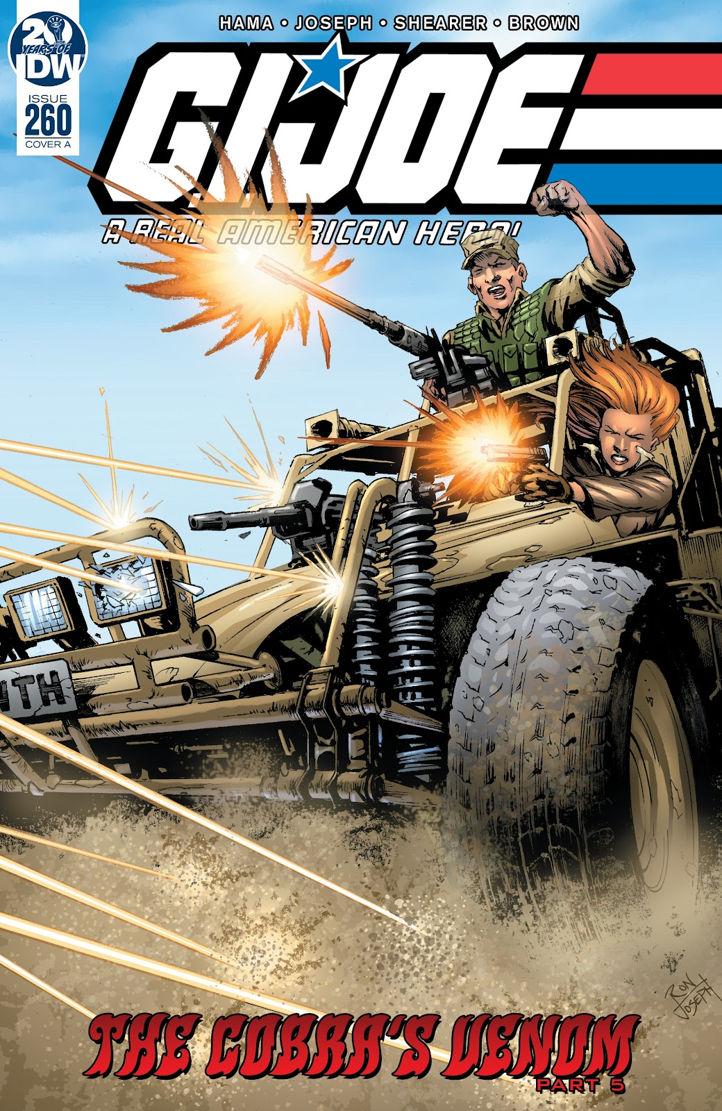G.I. Joe: A Real American Hero issue 260 - Page 1