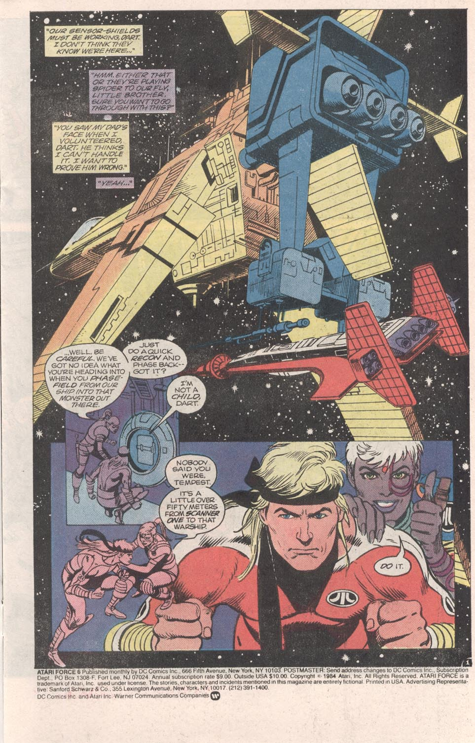 Read online Atari Force (1984) comic -  Issue #6 - 2