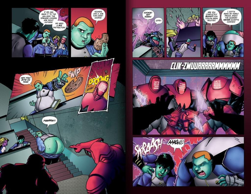 Read online ReBoot: Paradigms Lost comic -  Issue # Full - 20