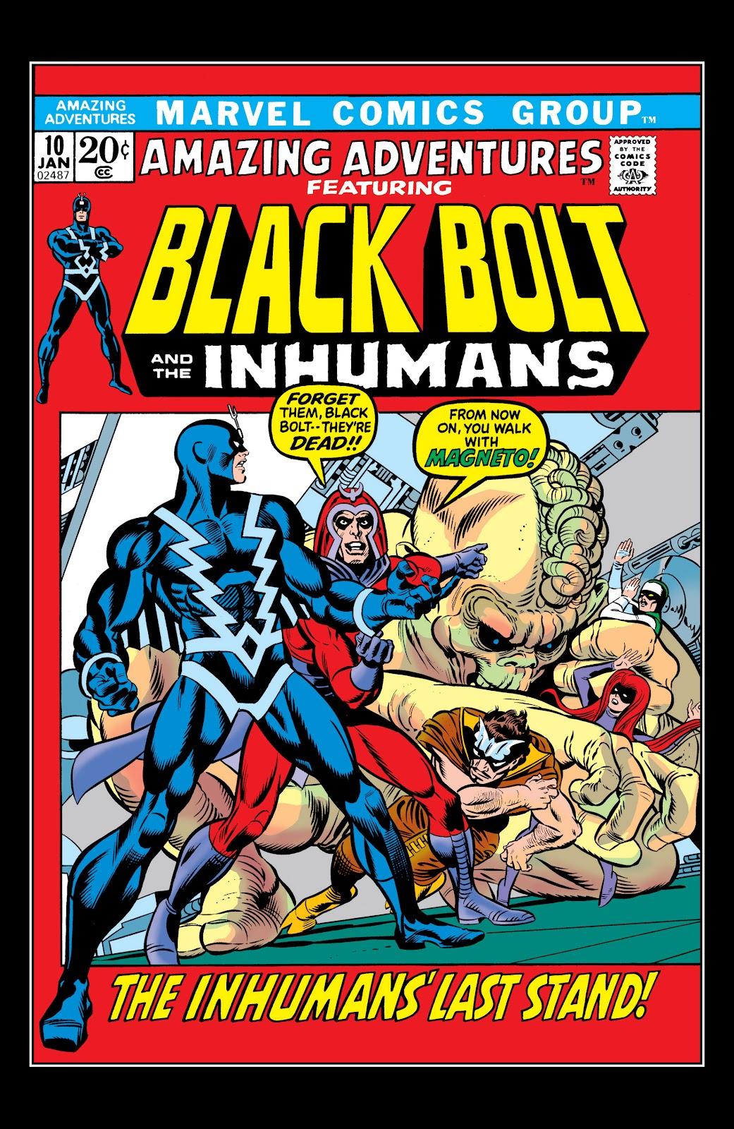 Read online Marvel Masterworks: The Inhumans comic -  Issue # TPB 1 (Part 2) - 78