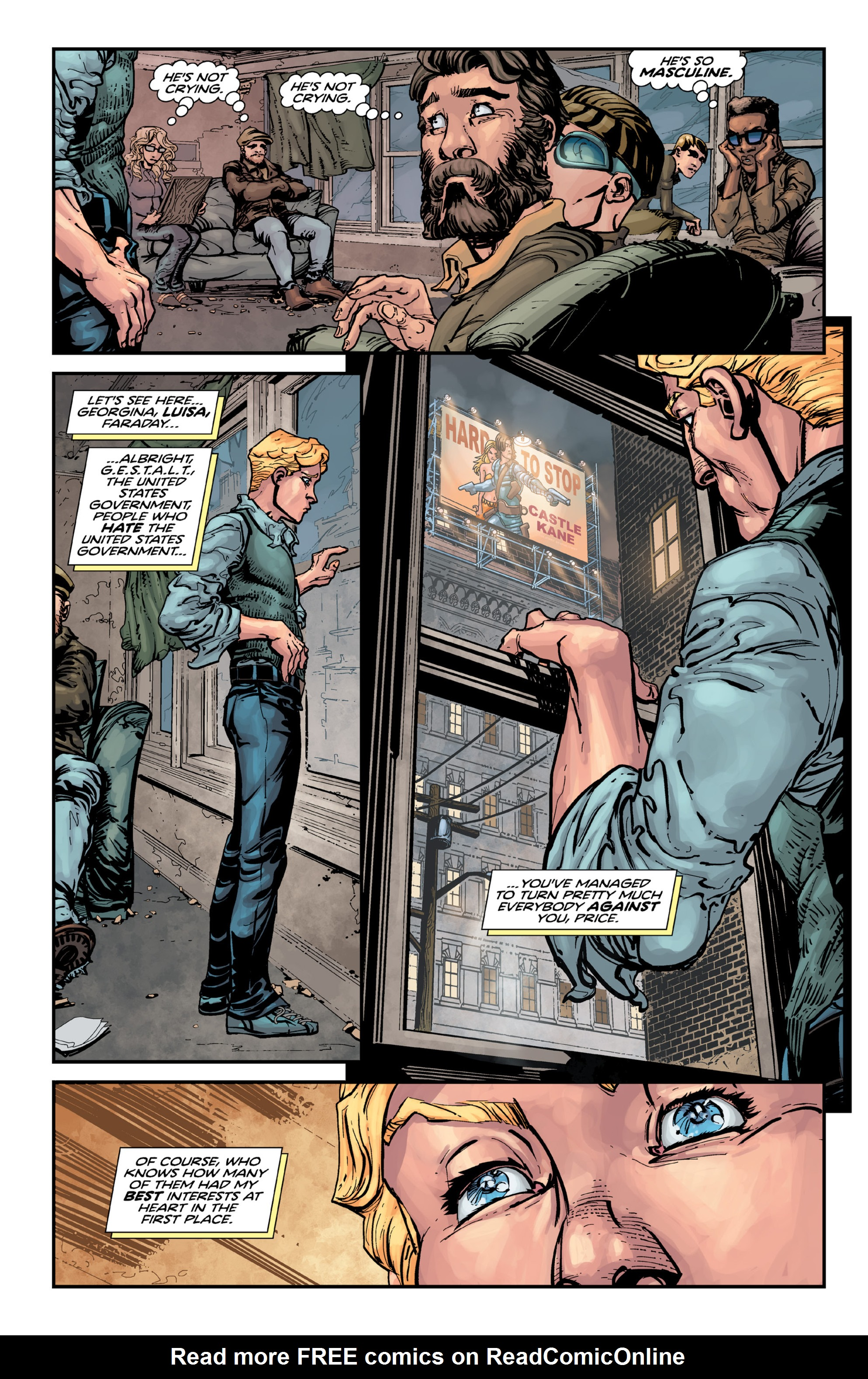 Read online Brain Boy:  The Men from G.E.S.T.A.L.T. comic -  Issue # TPB - 98