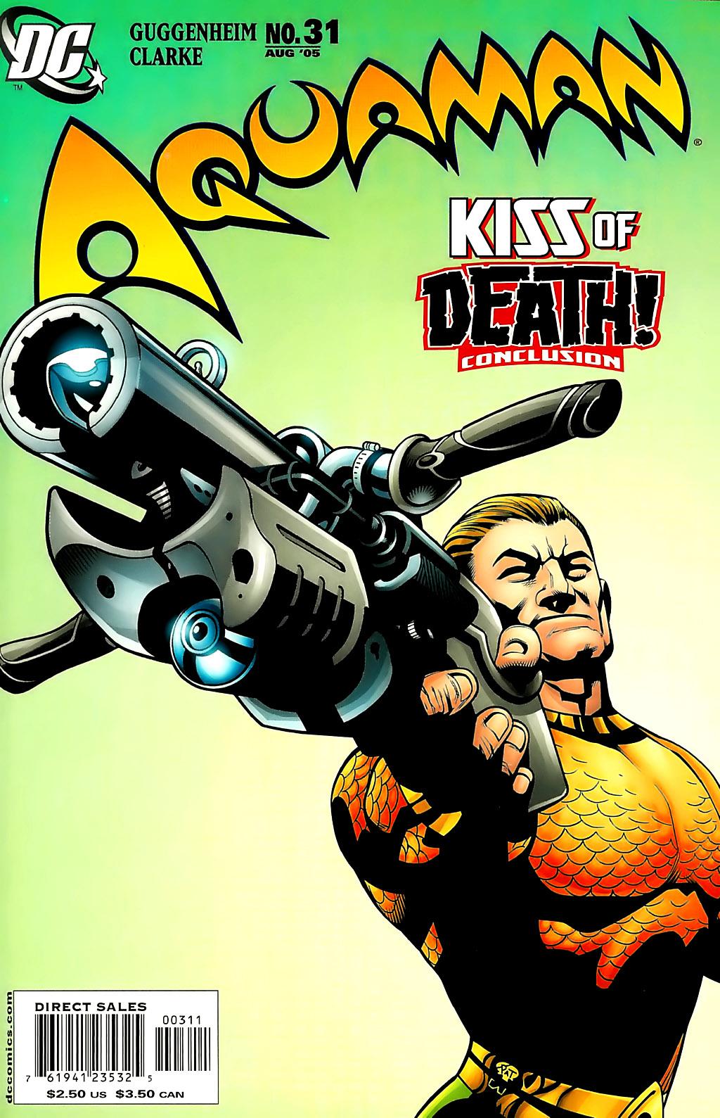 Read online Aquaman (2003) comic -  Issue #31 - 1
