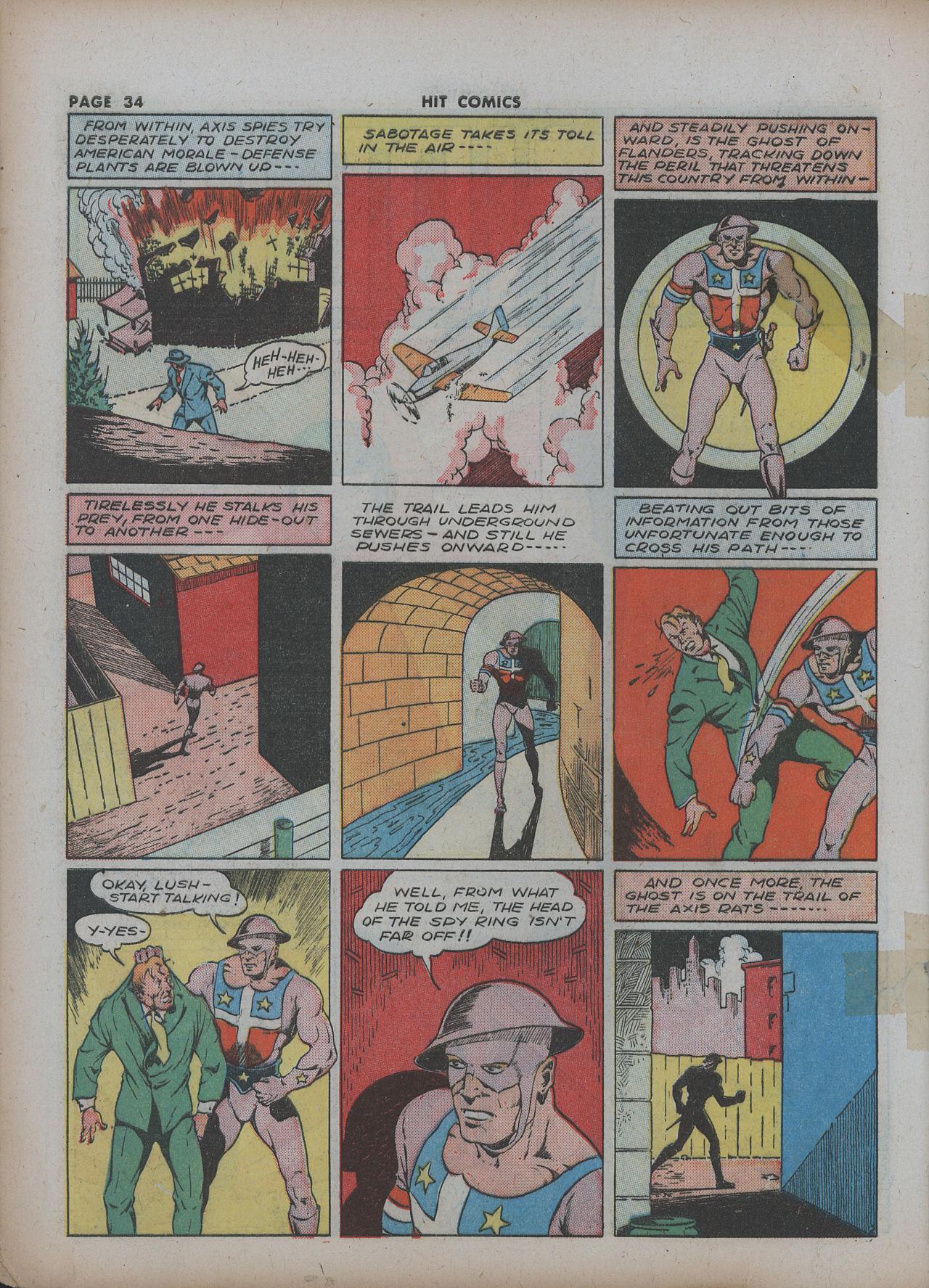 Read online Hit Comics comic -  Issue #22 - 36