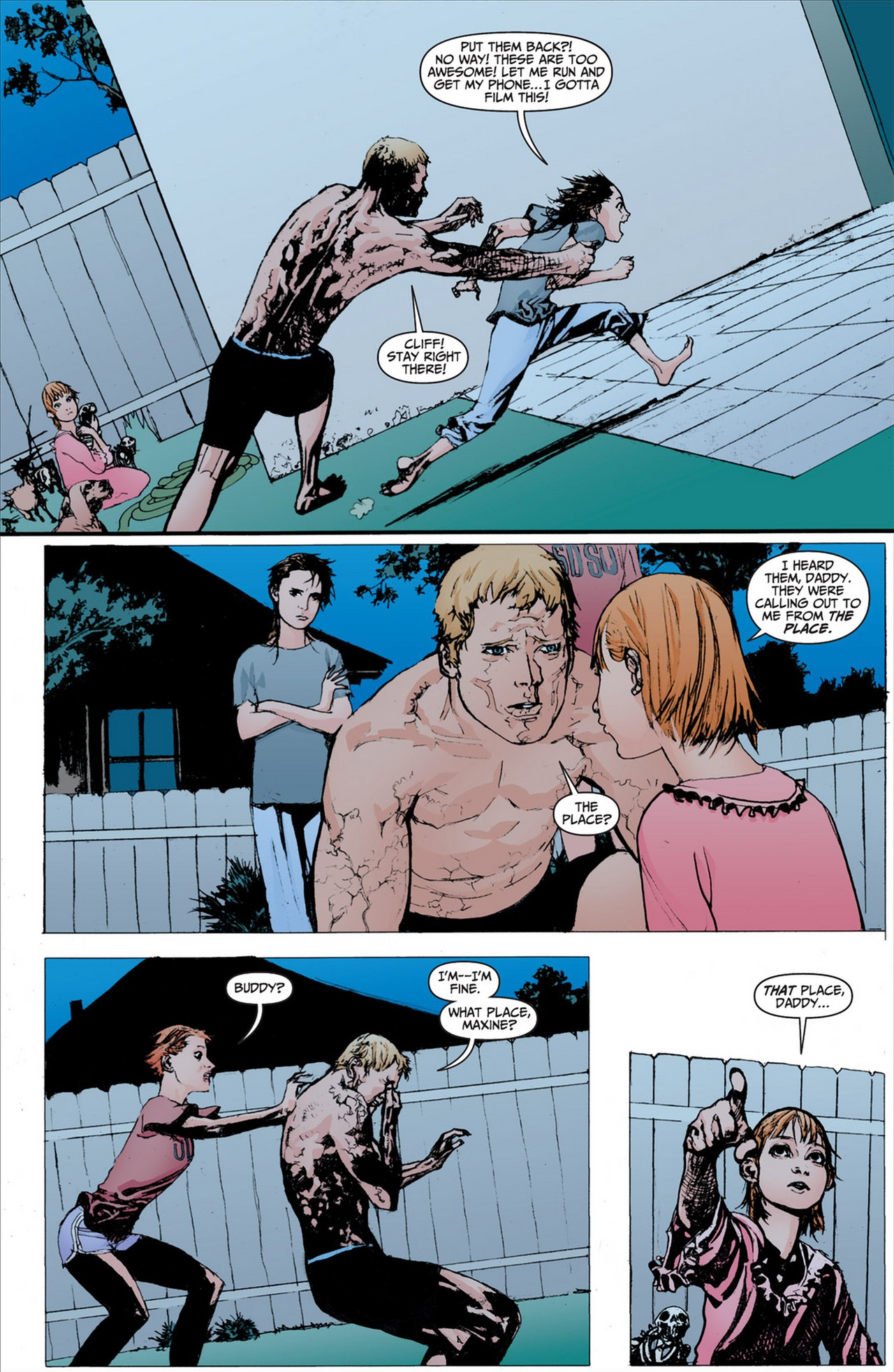 Read online Animal Man (2011) comic -  Issue #2 - 3