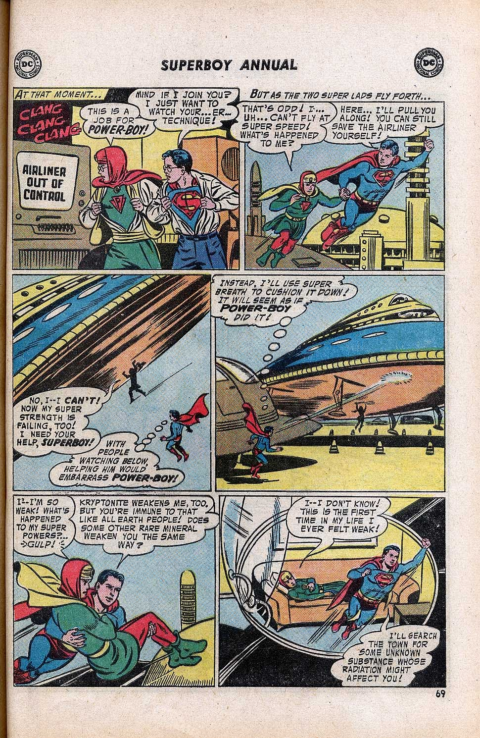Superboy (1949) issue Annual 1 - Page 71
