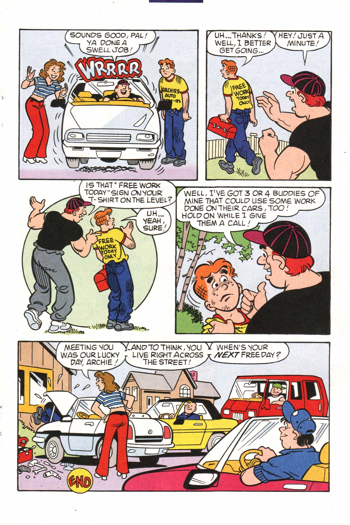 Read online Archie (1960) comic -  Issue #523 - 14