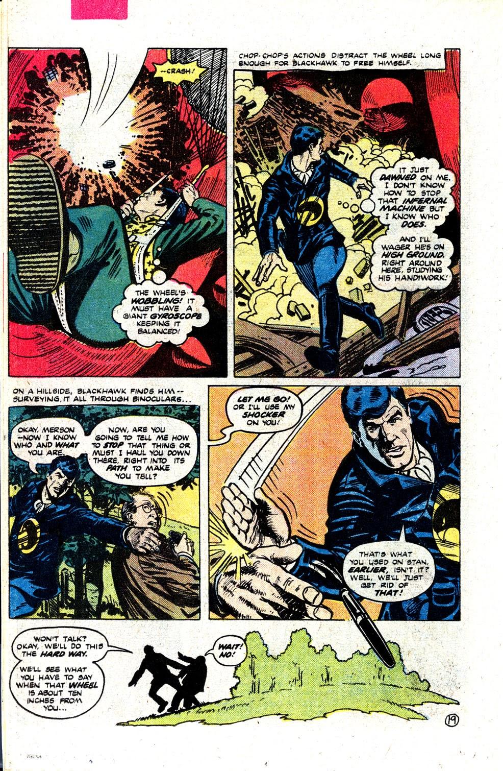 Read online Blackhawk (1957) comic -  Issue #252 - 25