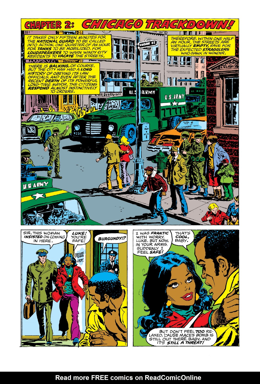Read online Marvel Masterworks: Luke Cage, Power Man comic -  Issue # TPB 3 (Part 3) - 71