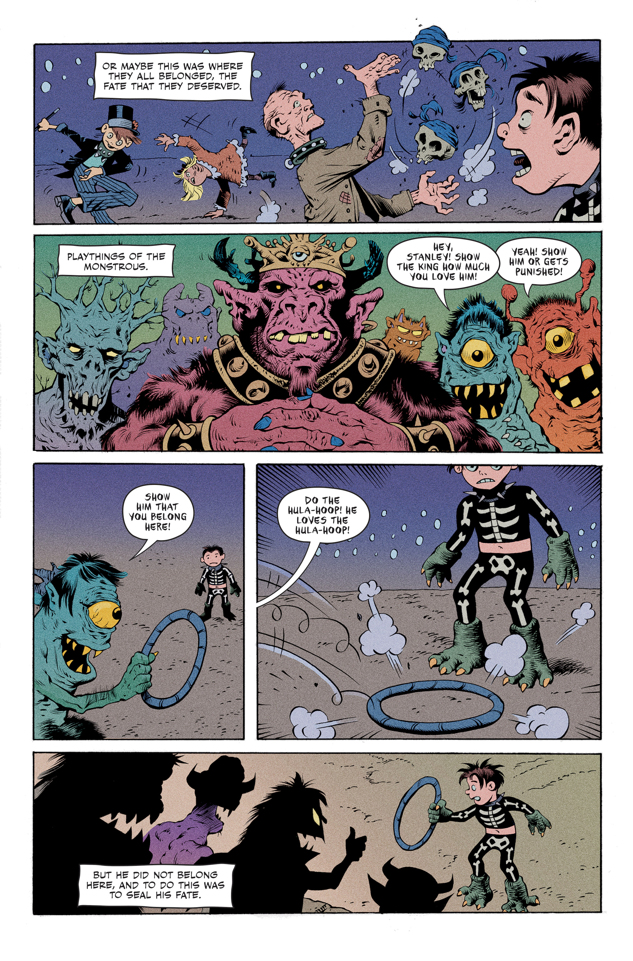 Read online Spook House comic -  Issue #5 - 19