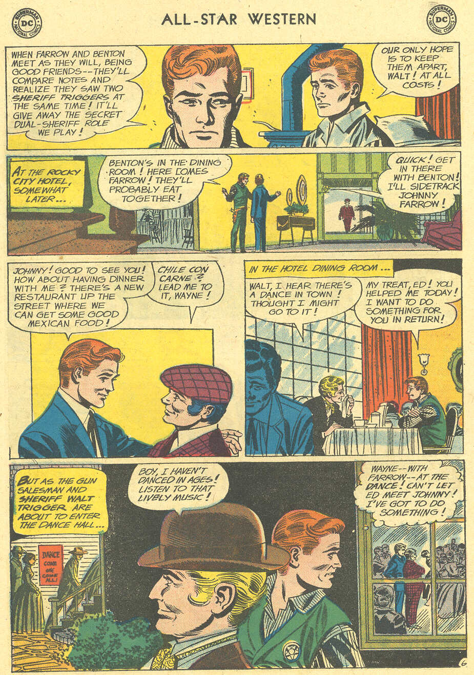 Read online All-Star Western (1951) comic -  Issue #113 - 30