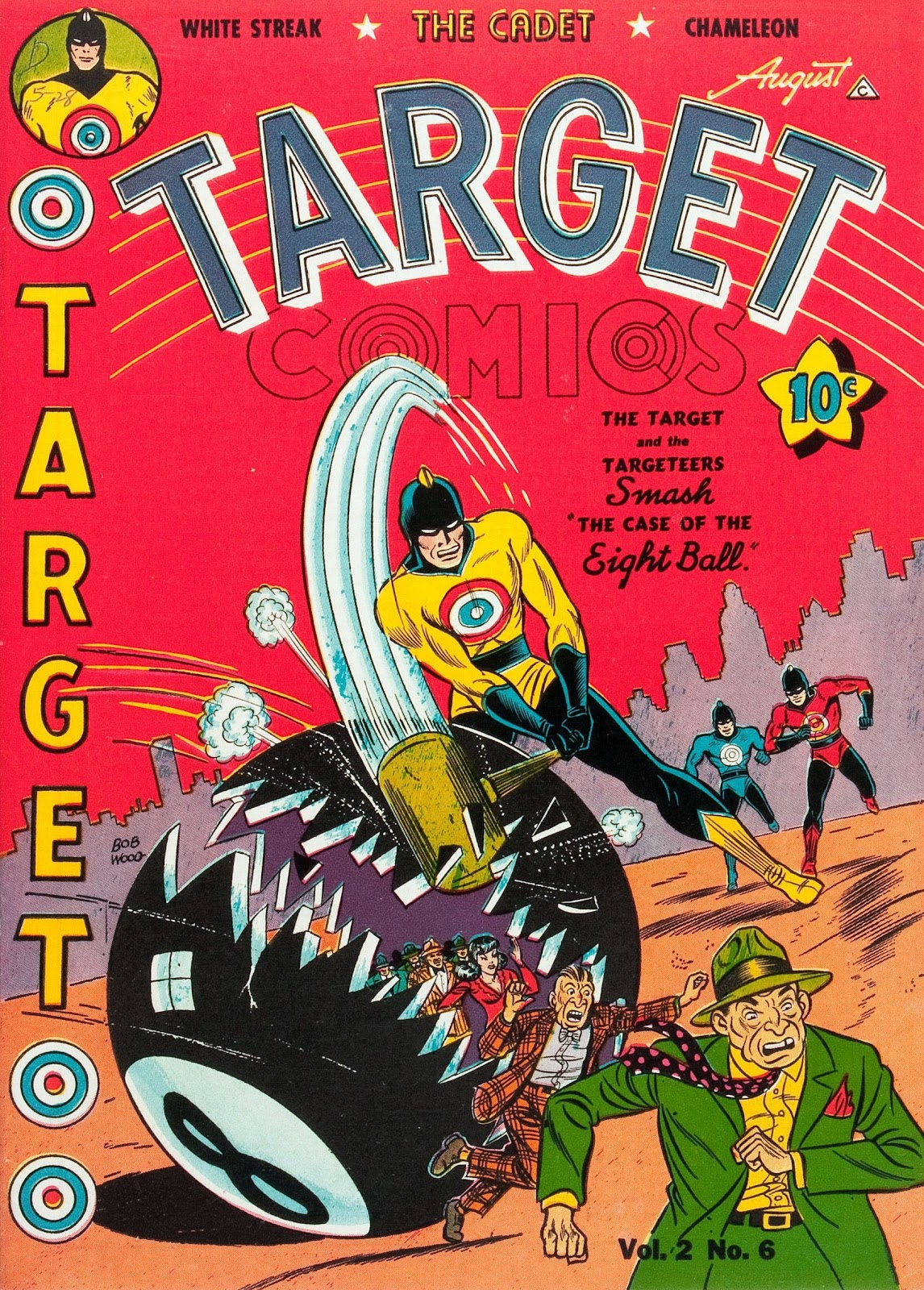 Target Comics issue 18 - Page 1