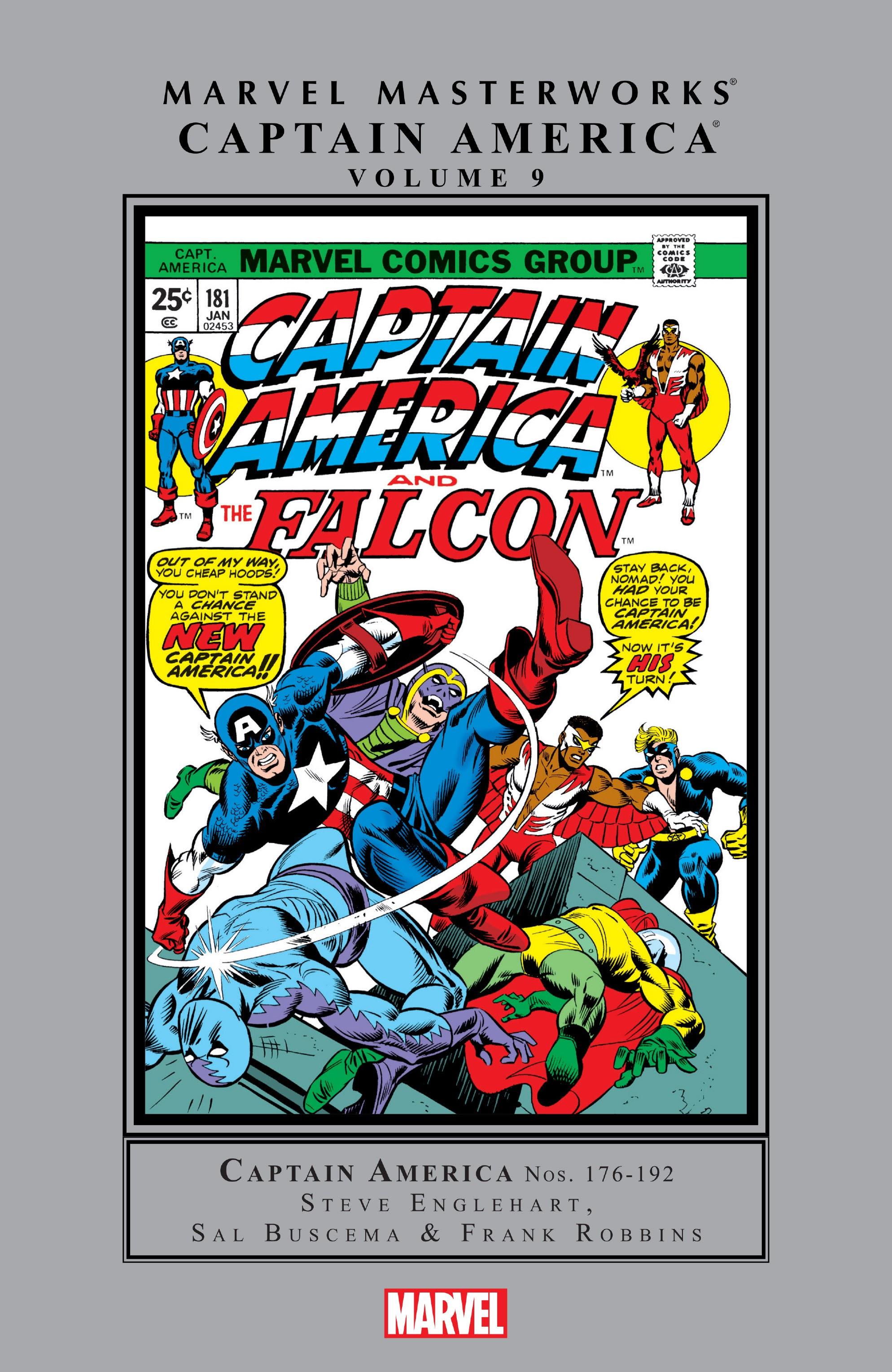 Marvel Masterworks: Captain America TPB_9_(Part_1) Page 1