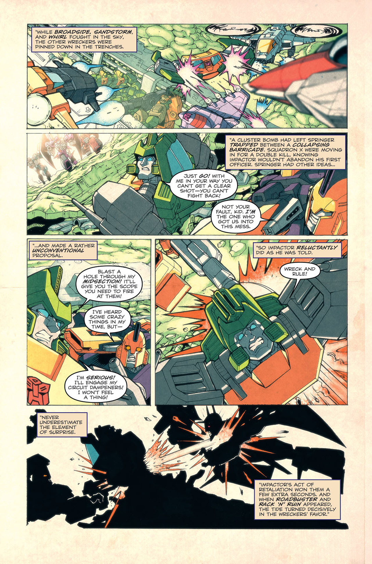 Read online Transformers: Last Stand of The Wreckers comic -  Issue #4 - 13
