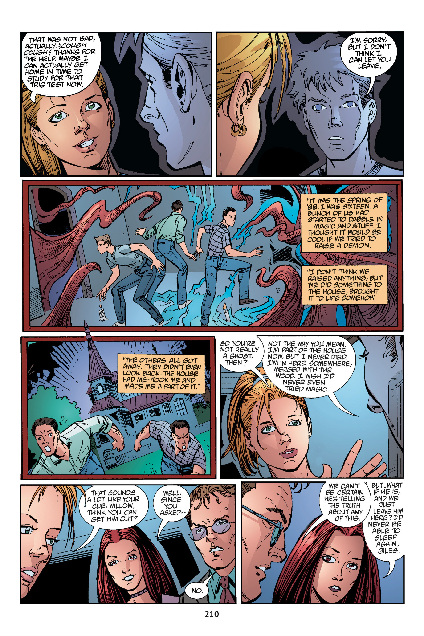 Read online Buffy the Vampire Slayer: Omnibus comic -  Issue # TPB 3 - 203