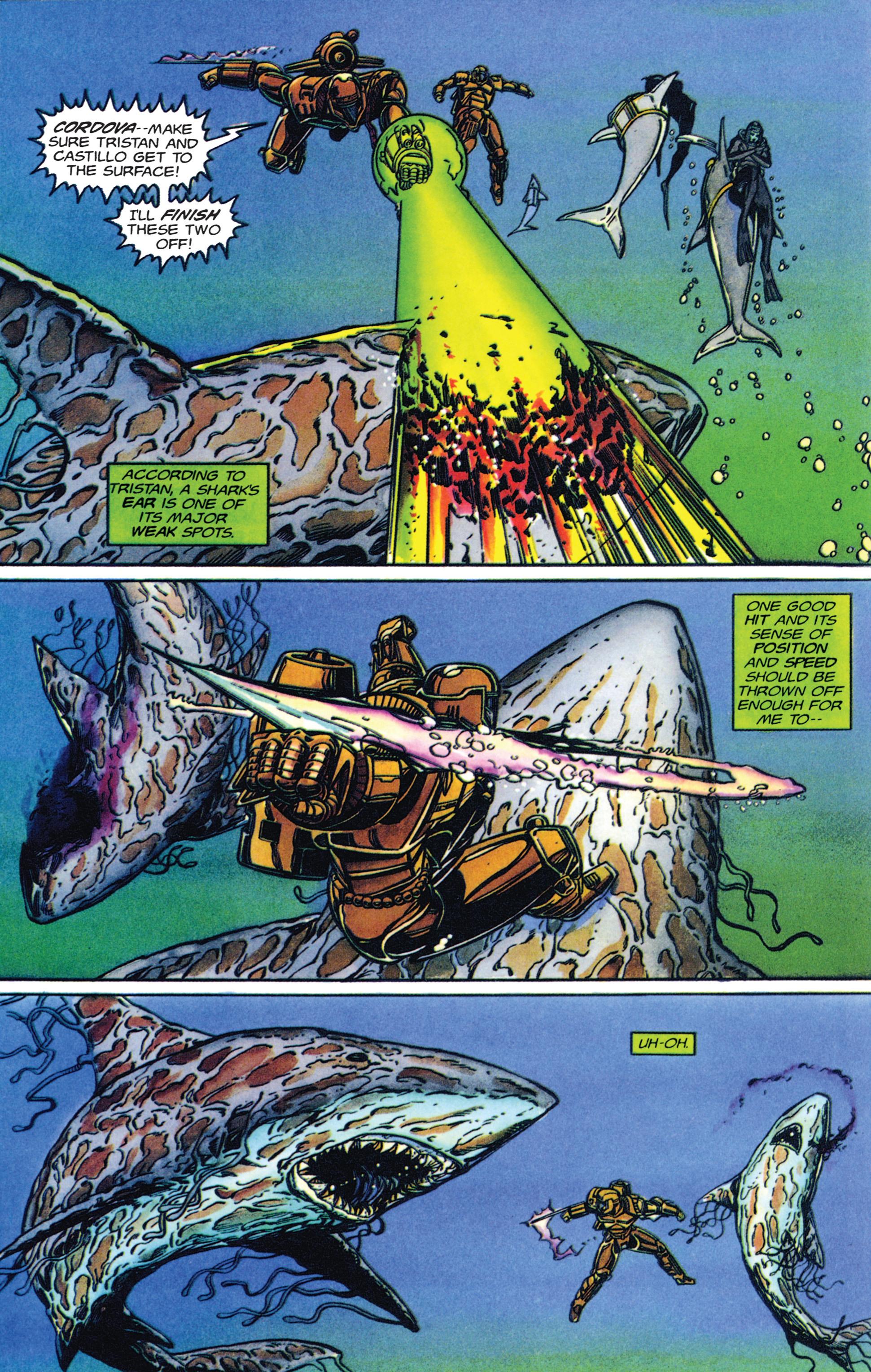 Read online Armorines comic -  Issue #2 - 16