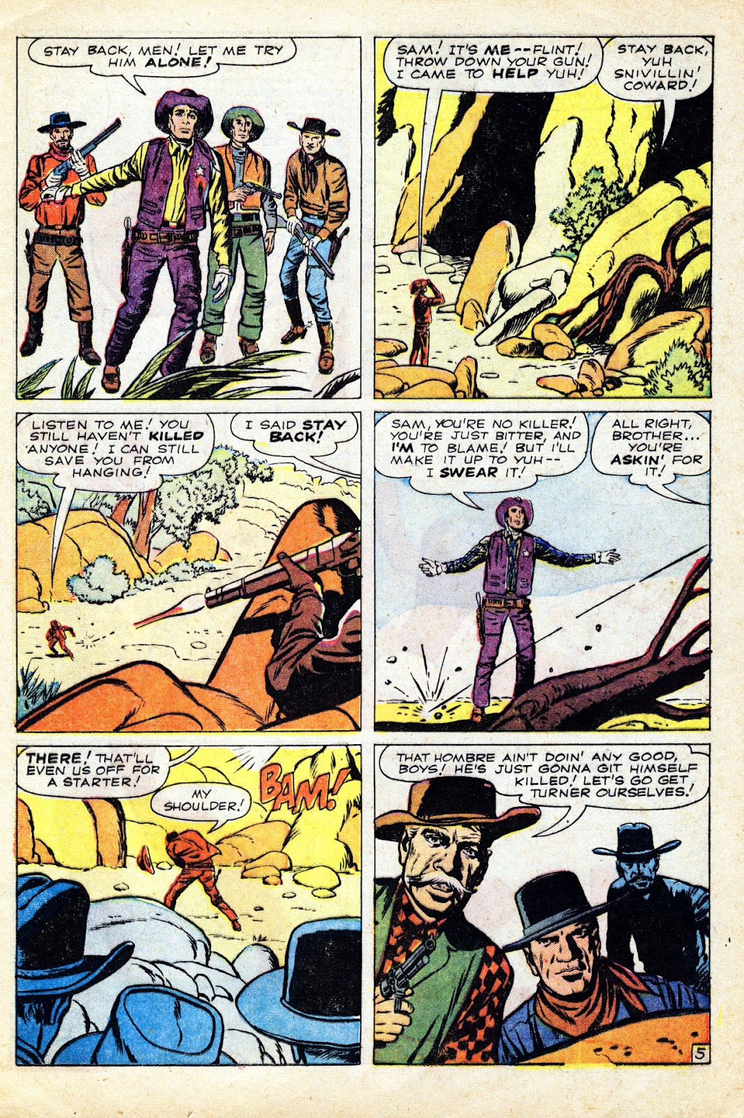 Gunsmoke Western issue 65 - Page 17