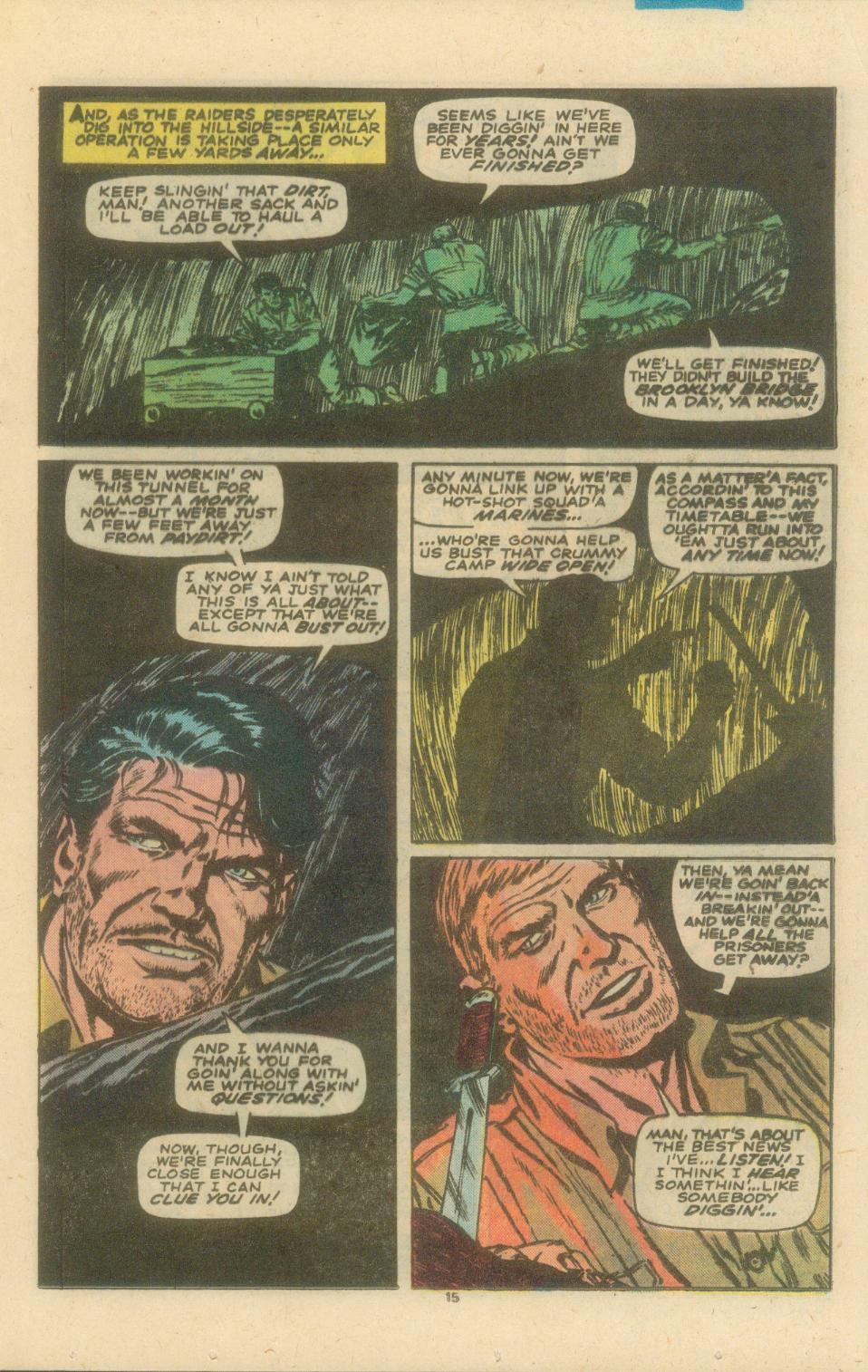 Read online Sgt. Fury comic -  Issue #154 - 17