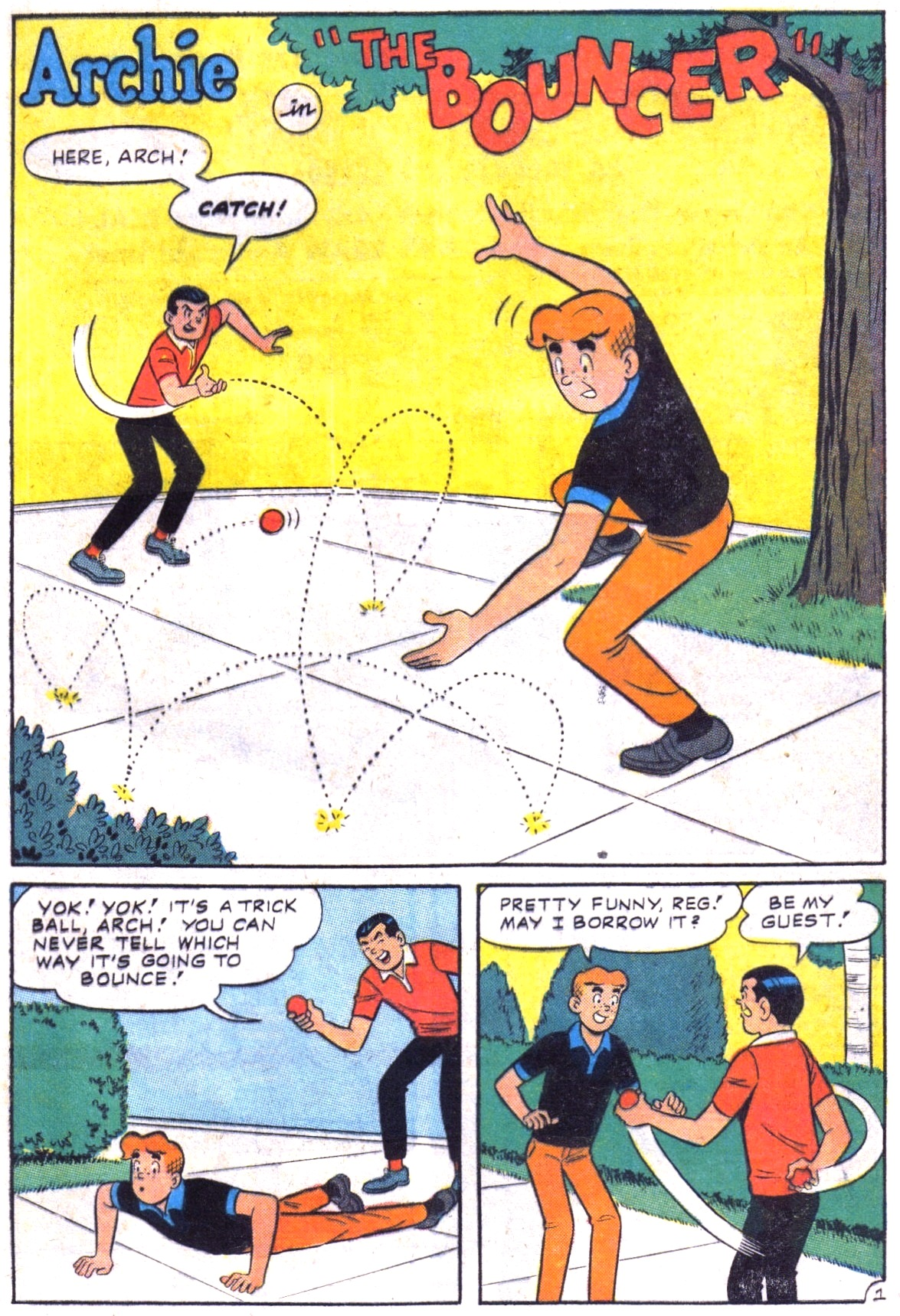 Read online Archie (1960) comic -  Issue #164 - 29