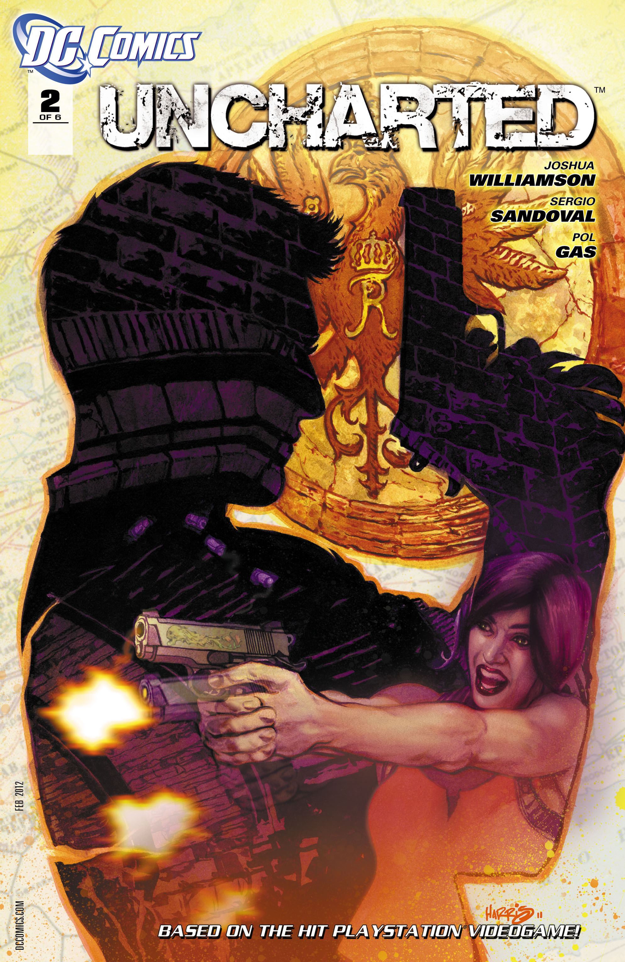 Read online Uncharted comic -  Issue #2 - 2