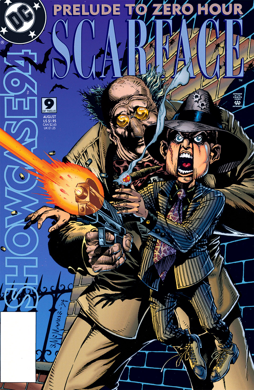 Read online Showcase '94 comic -  Issue #9 - 1
