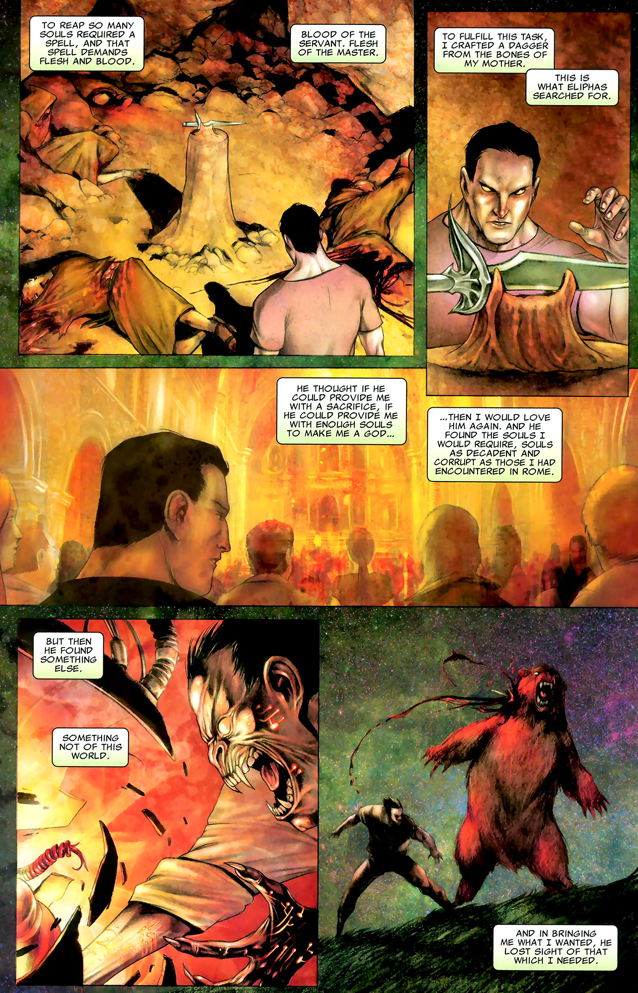 Read online X Necrosha: The Gathering comic -  Issue # Full - 41
