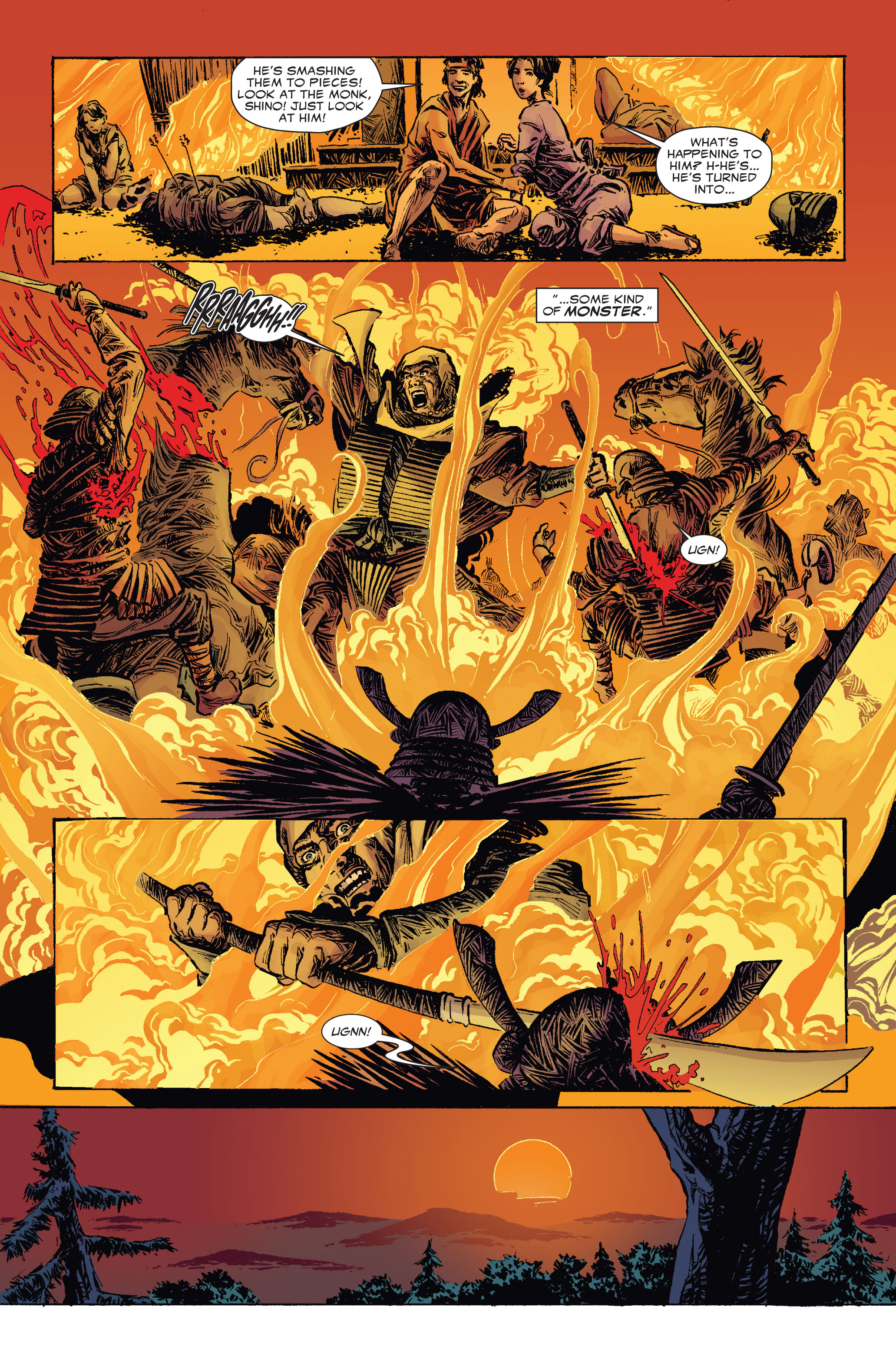 Read online 5 Ronin (2011) comic -  Issue #2 - 20
