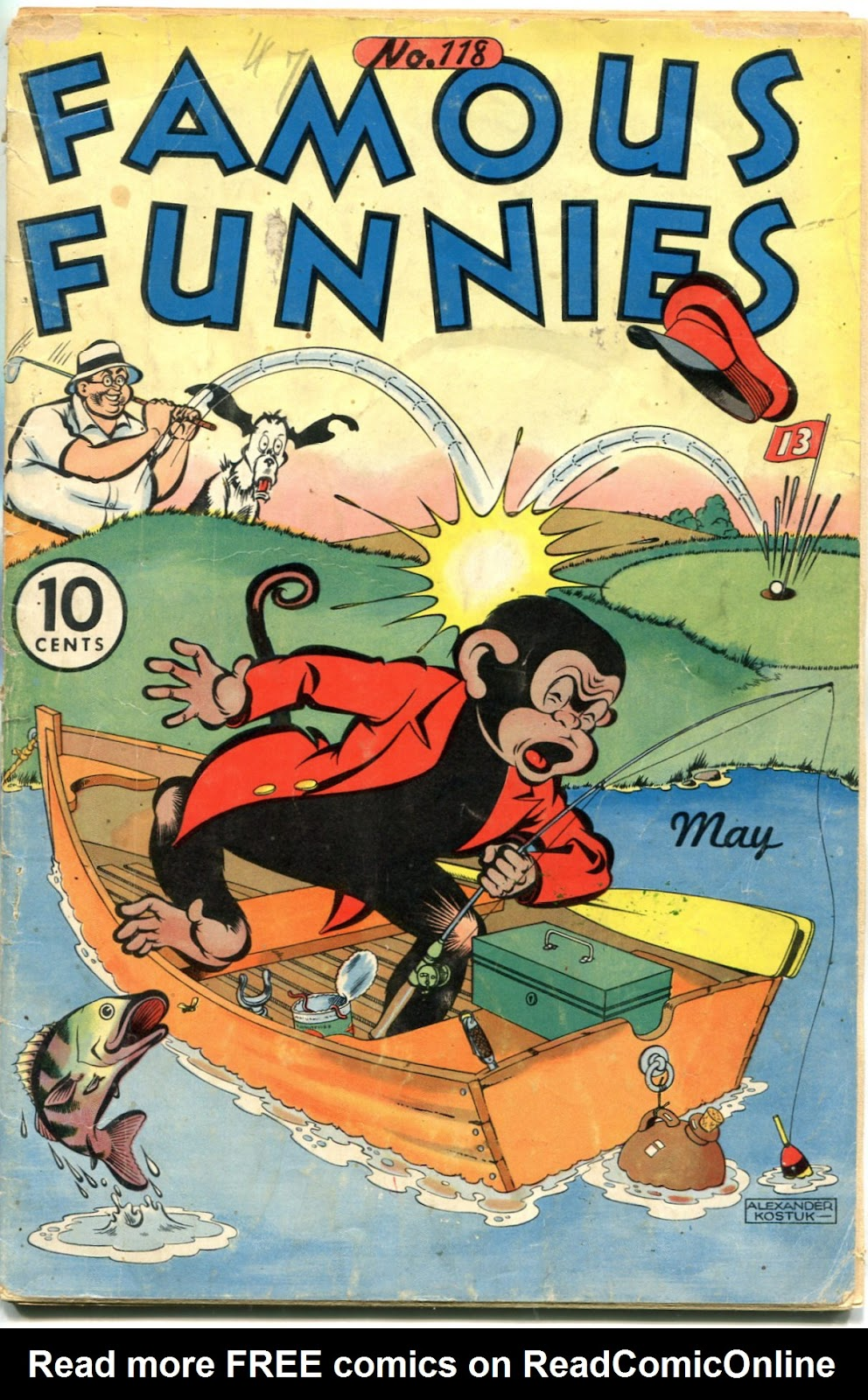 Read online Famous Funnies comic -  Issue #118 - 1
