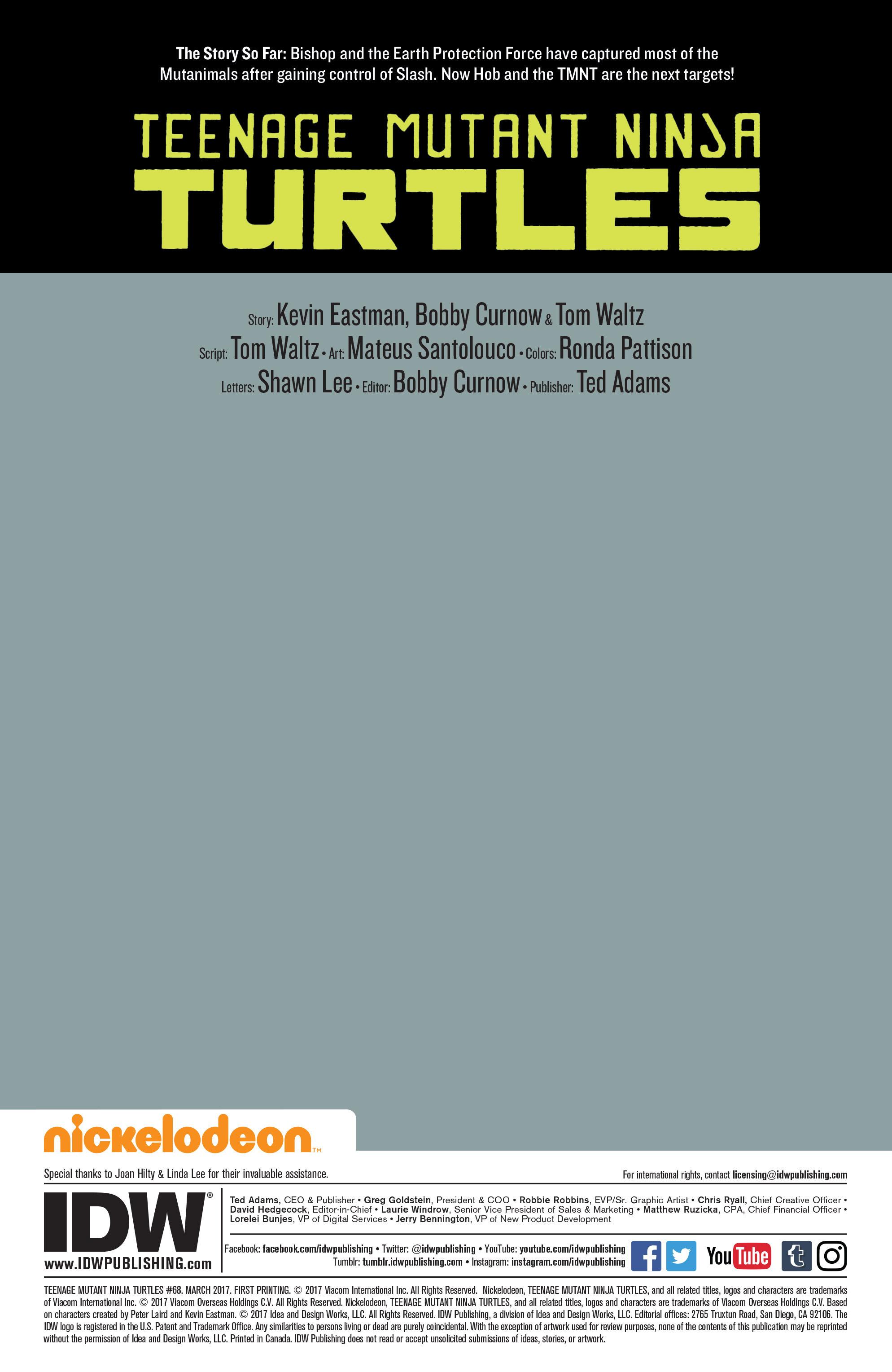 Read online Teenage Mutant Ninja Turtles (2011) comic -  Issue #68 - 2