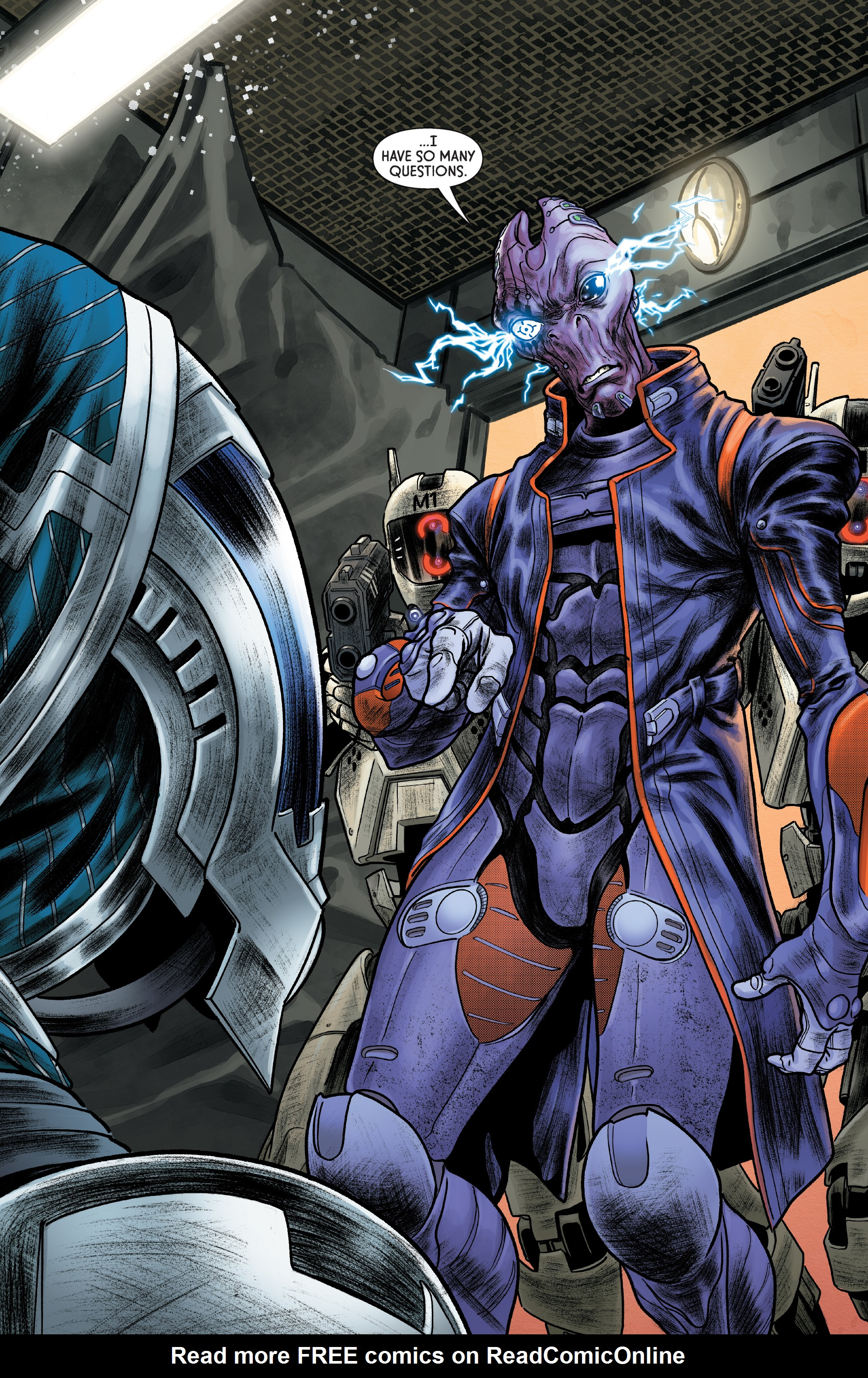 Read online Mass Effect: Discovery comic -  Issue #1 - 23