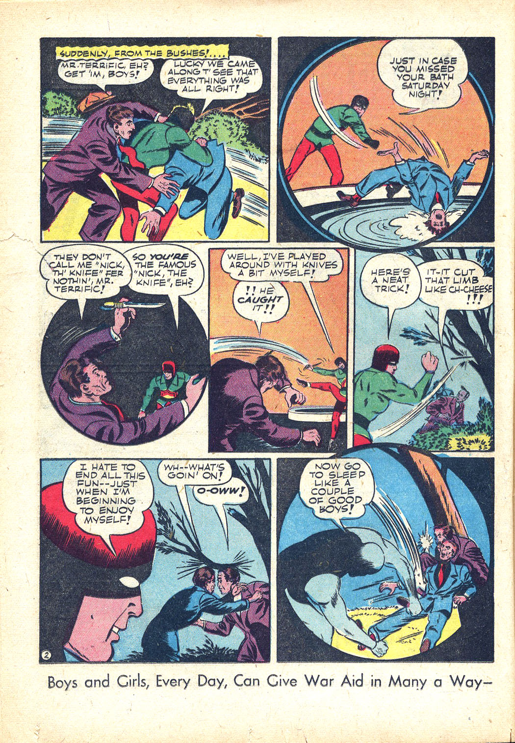 Read online Sensation (Mystery) Comics comic -  Issue #34 - 34