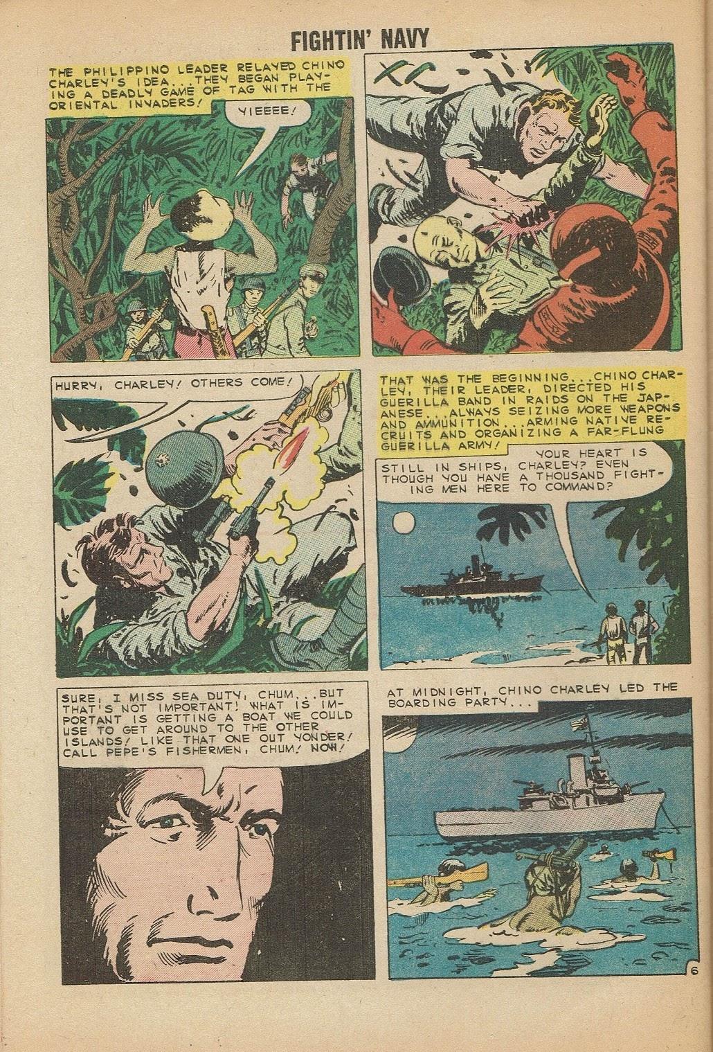 Read online Fightin' Navy comic -  Issue #91 - 32