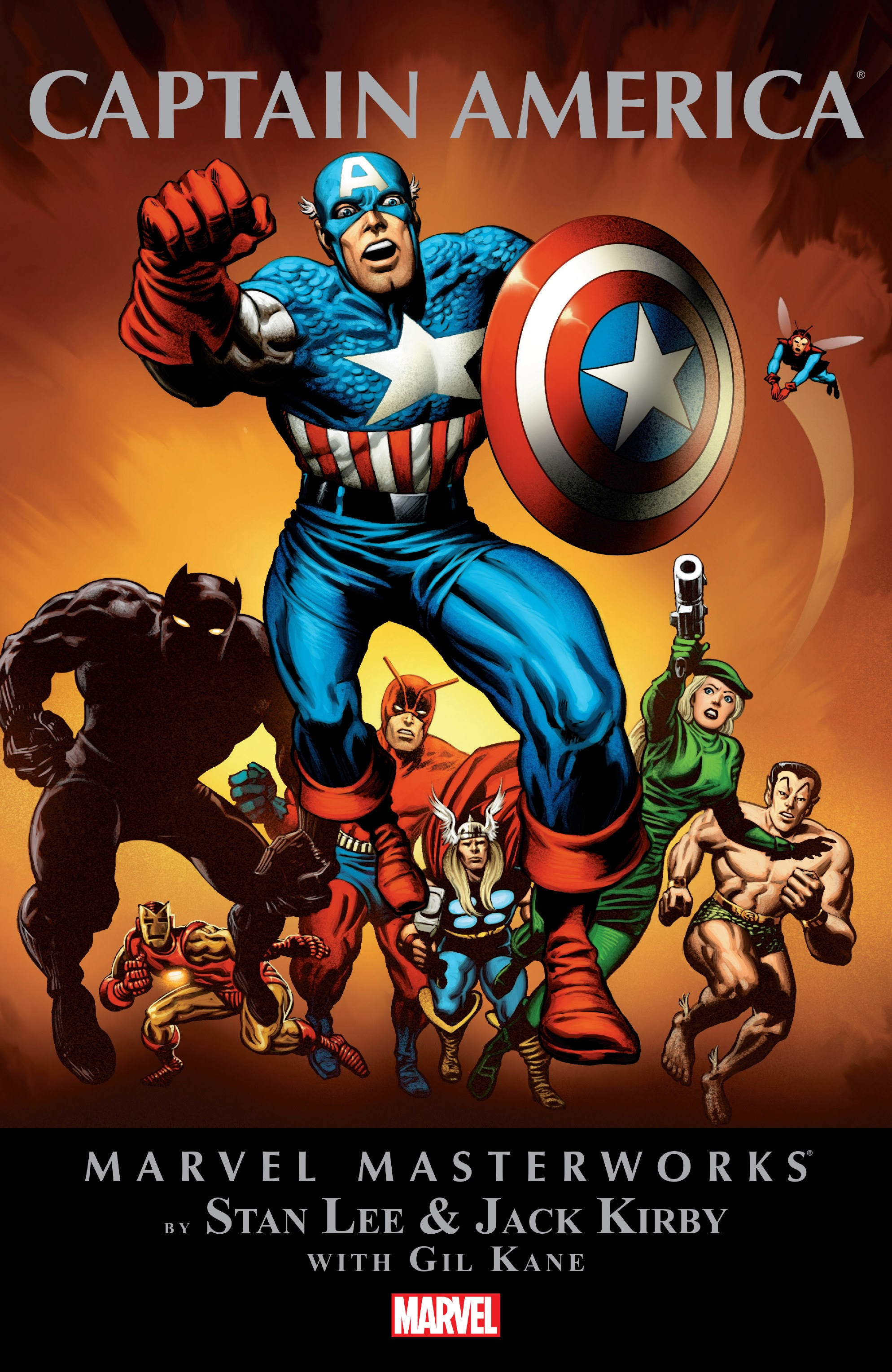 Marvel Masterworks: Captain America TPB_2_(Part_1) Page 1