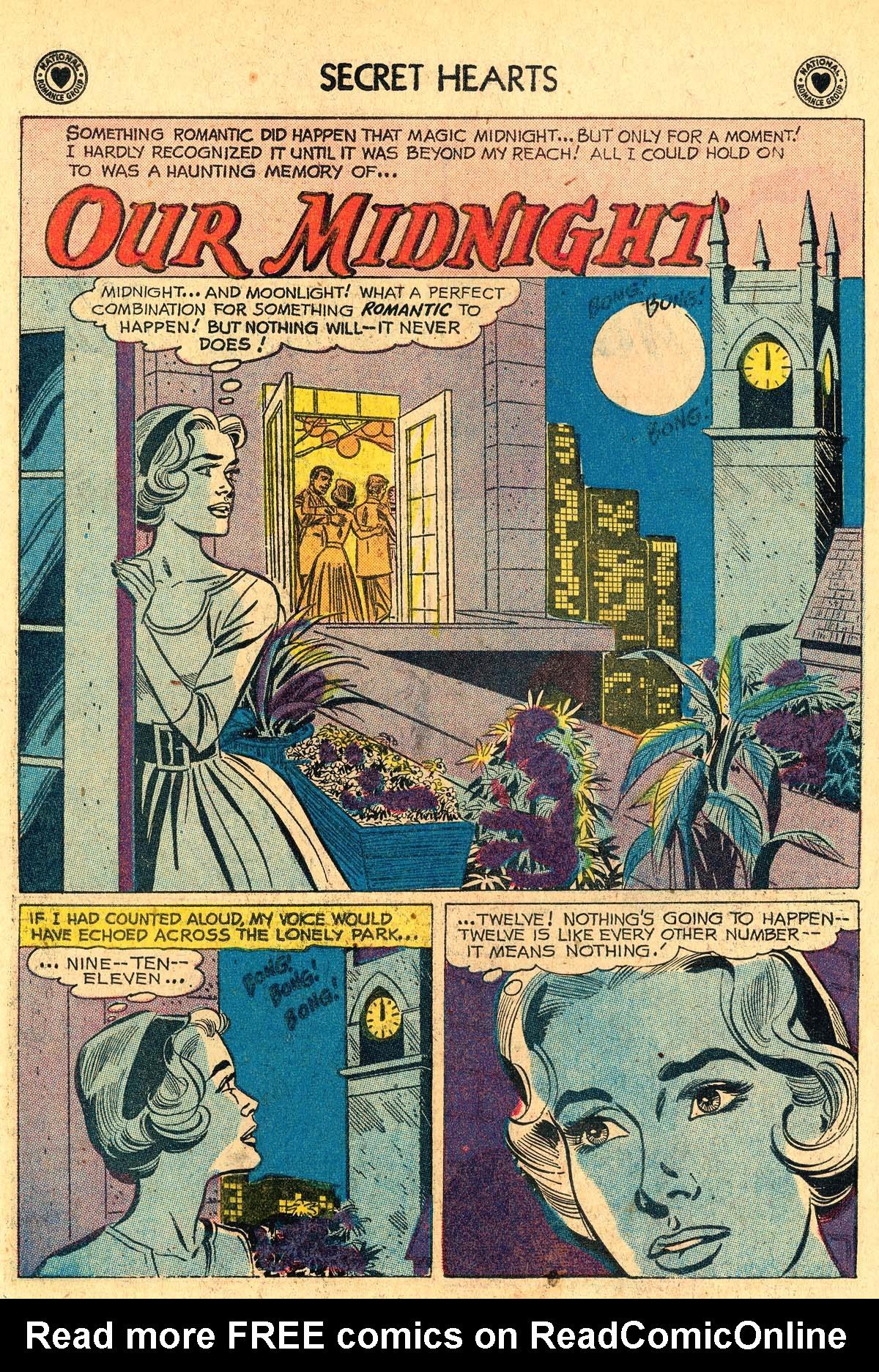 Read online Secret Hearts comic -  Issue #60 - 18