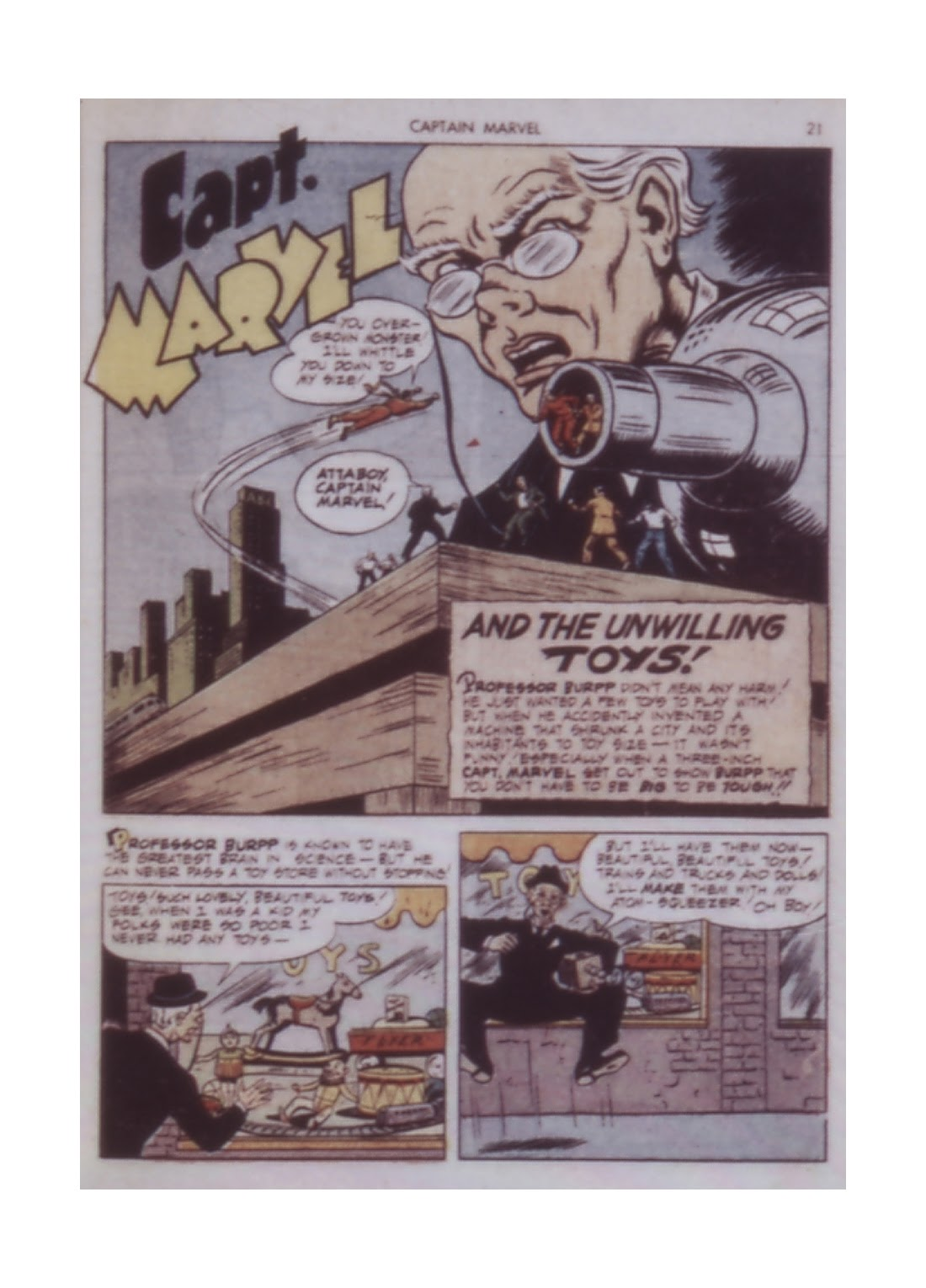 Captain Marvel Adventures issue 14 - Page 21