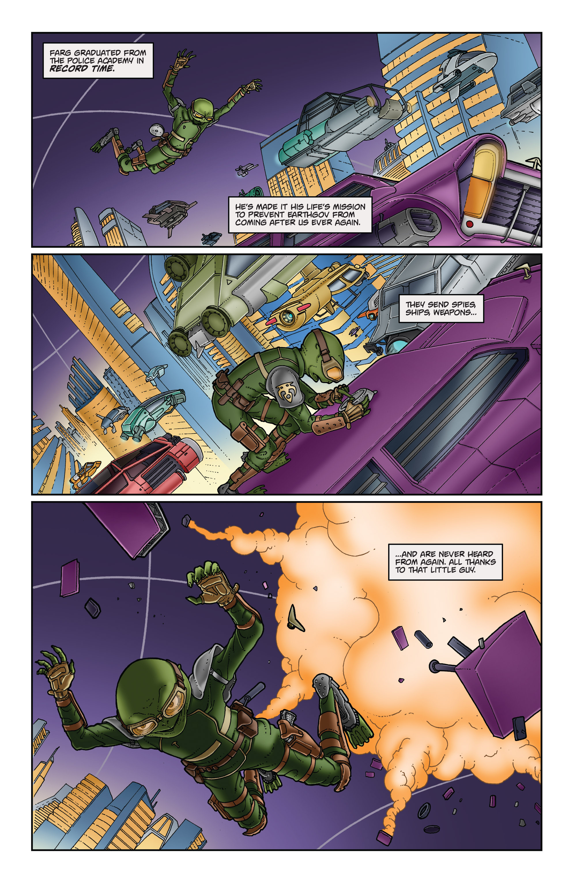 Read online Satellite Falling comic -  Issue #5 - 19