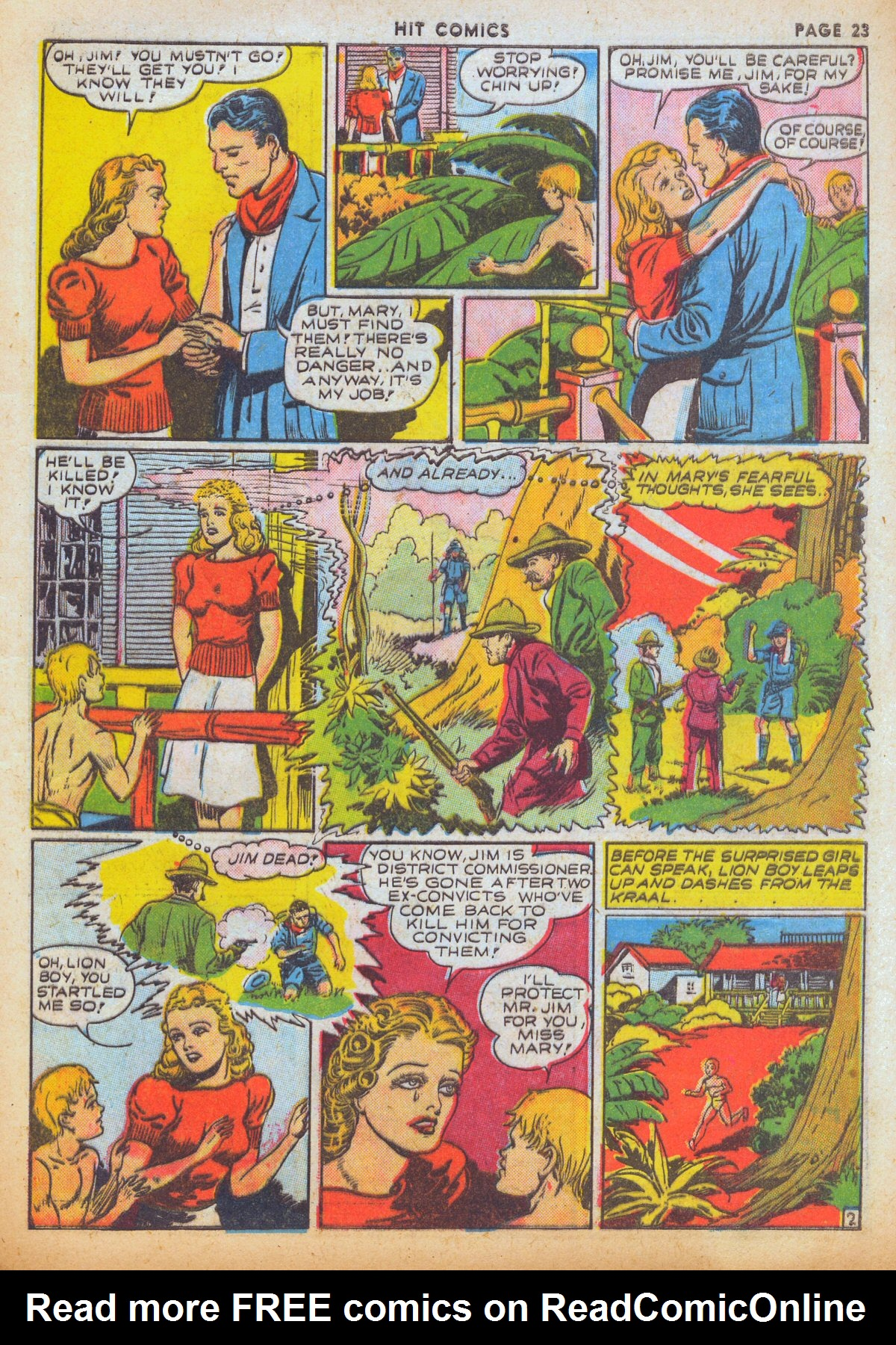 Read online Hit Comics comic -  Issue #12 - 25