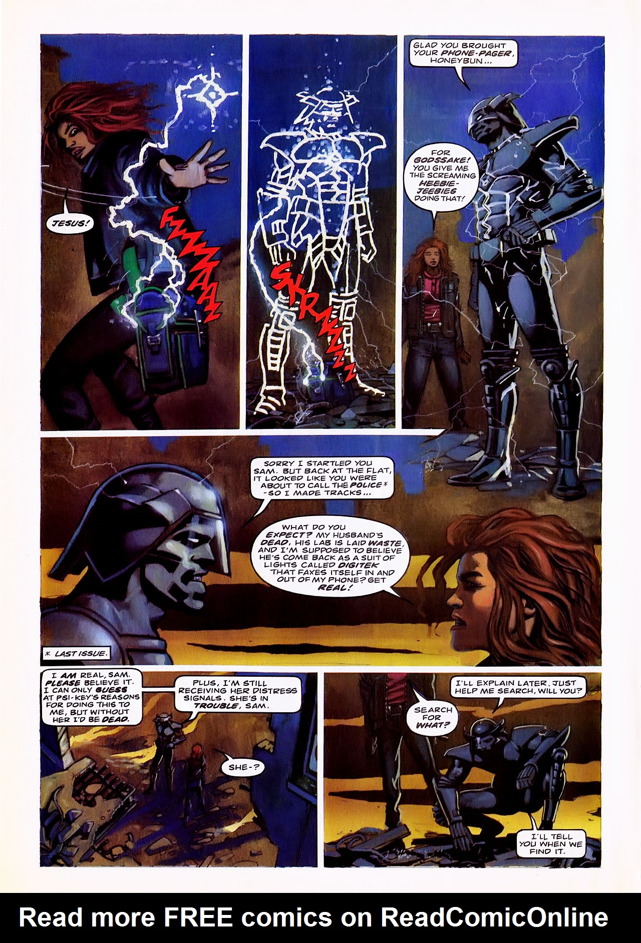 Read online Overkill comic -  Issue #6 - 12