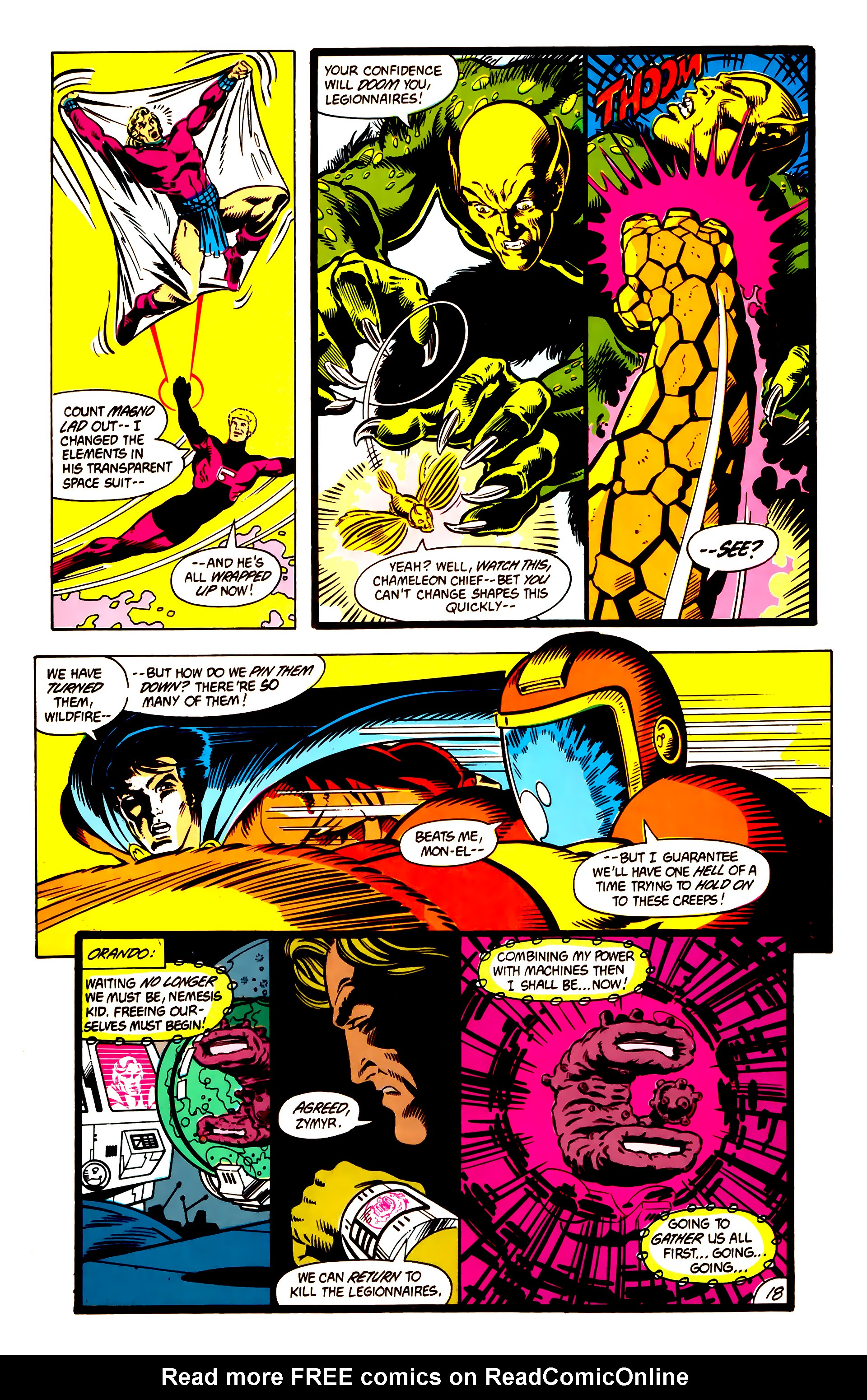 Legion of Super-Heroes (1984) 3 Page 19