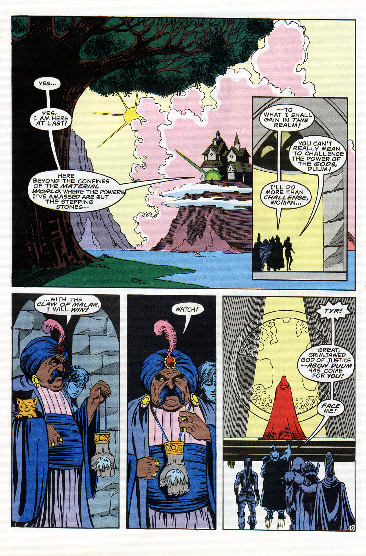Read online Advanced Dungeons & Dragons comic -  Issue #16 - 12