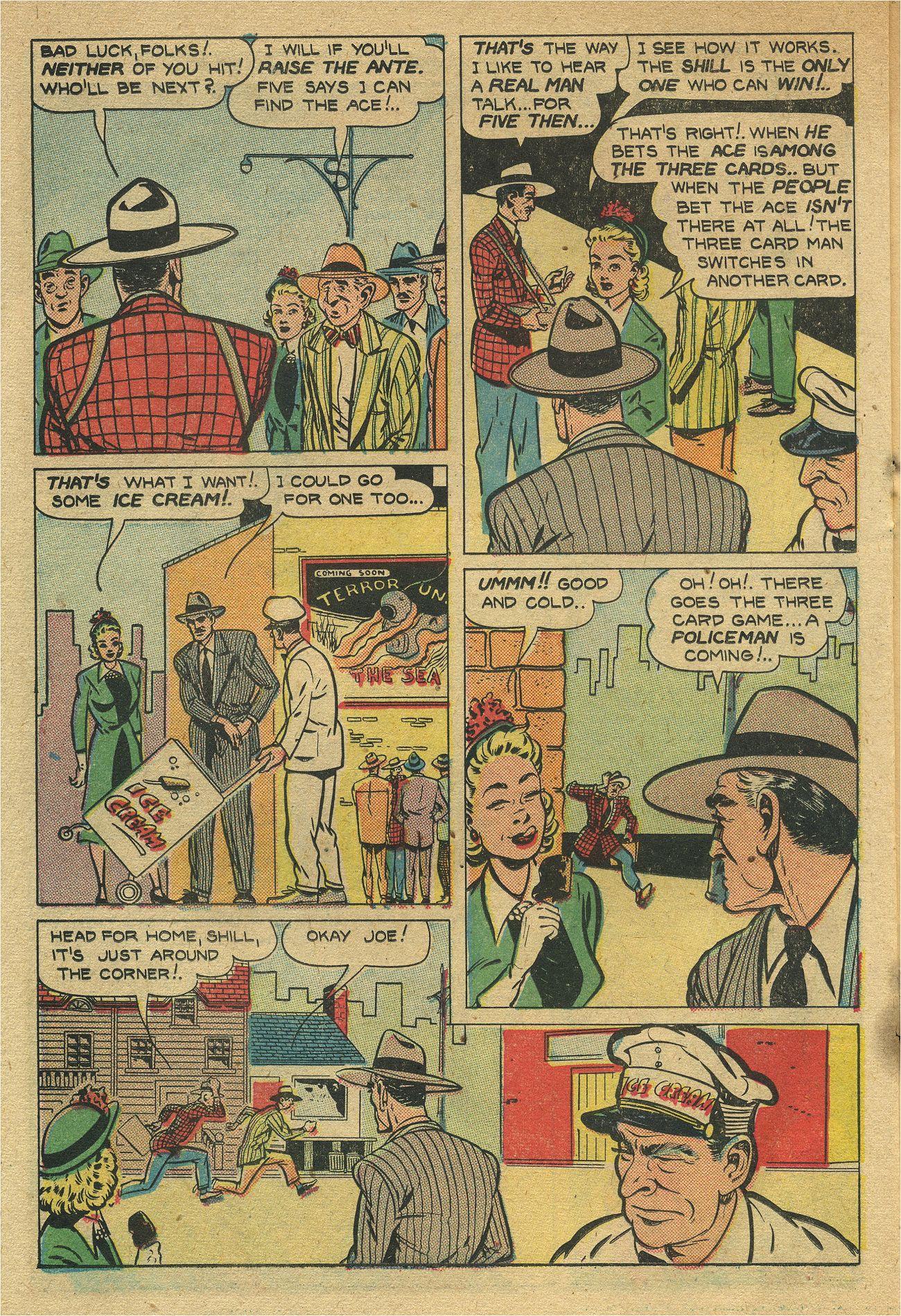 Read online Shadow Comics comic -  Issue #93 - 35