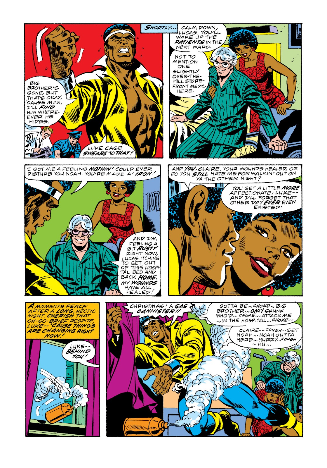 Read online Marvel Masterworks: Luke Cage, Power Man comic -  Issue # TPB 3 (Part 2) - 82