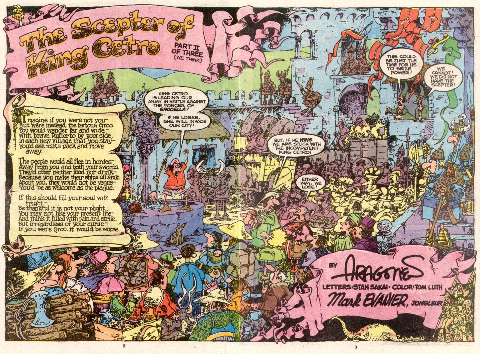 Read online Sergio Aragonés Groo the Wanderer comic -  Issue #74 - 3