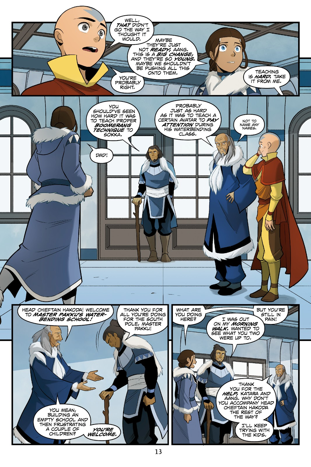 Nickelodeon Avatar: The Last Airbender - North and South issue 3 - Page 14