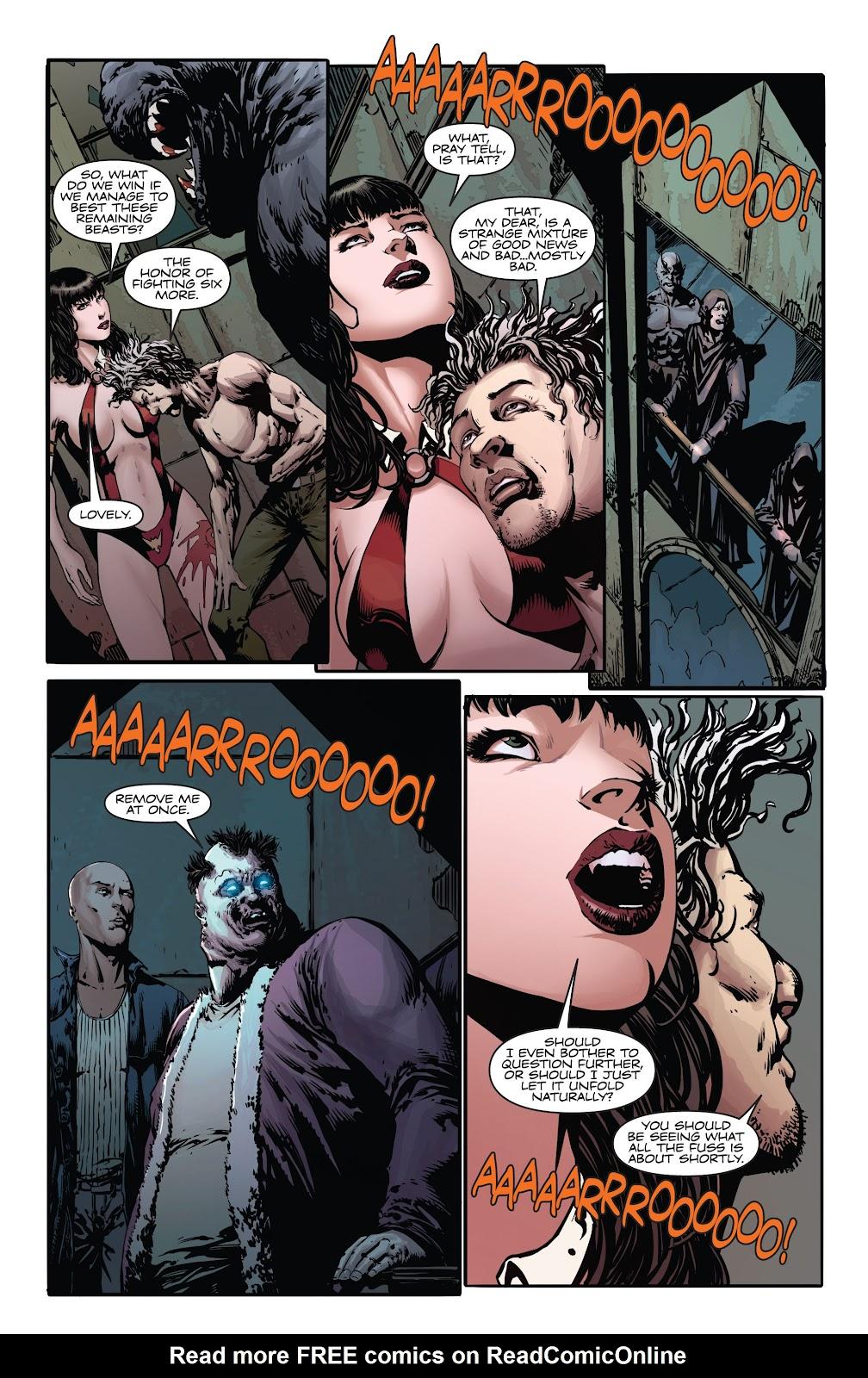 Read online Vampirella Strikes comic -  Issue #4 - 10