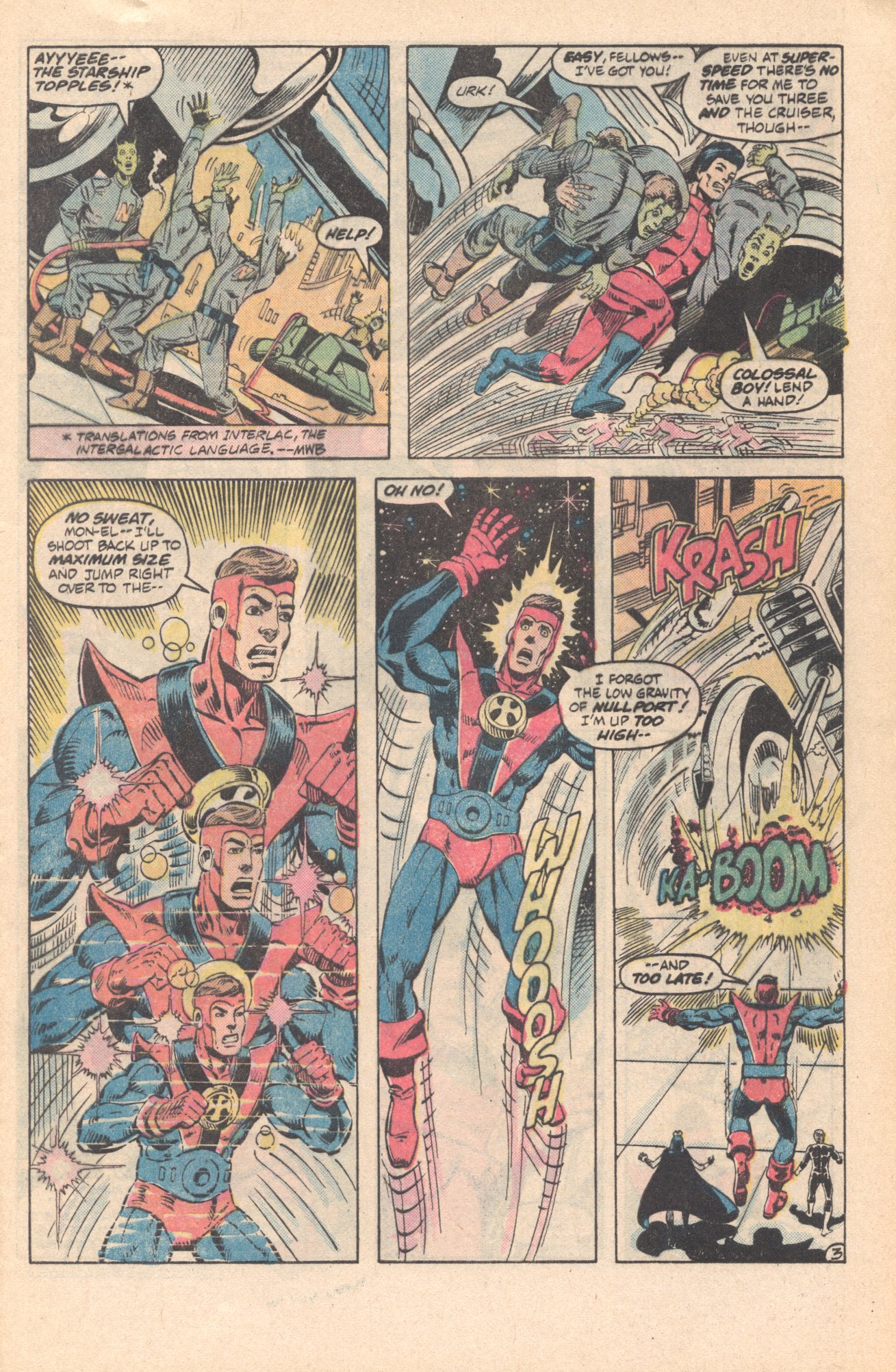 Legion of Super-Heroes (1980) 285 Page 3