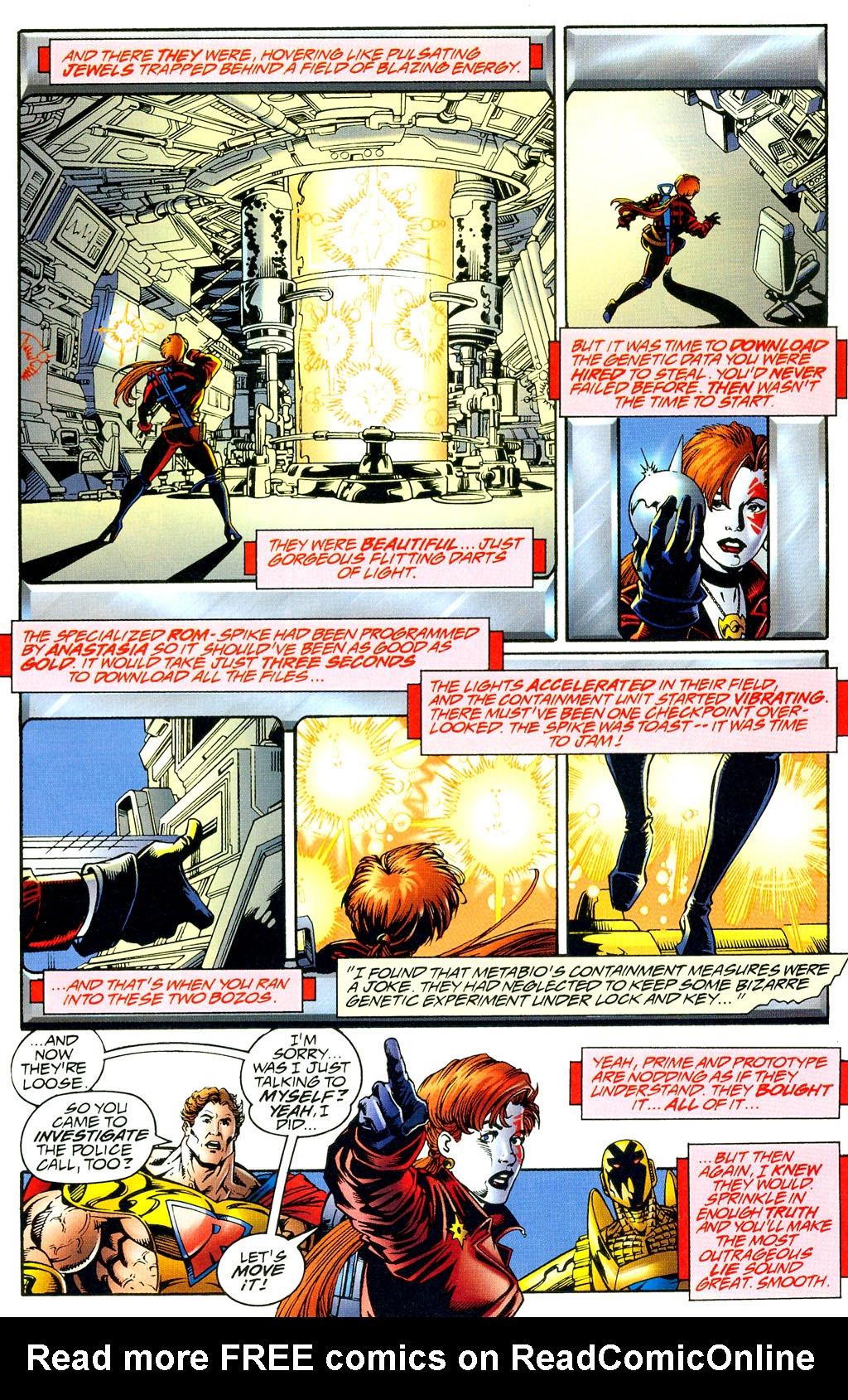 Read online UltraForce (1994) comic -  Issue #8 - 14