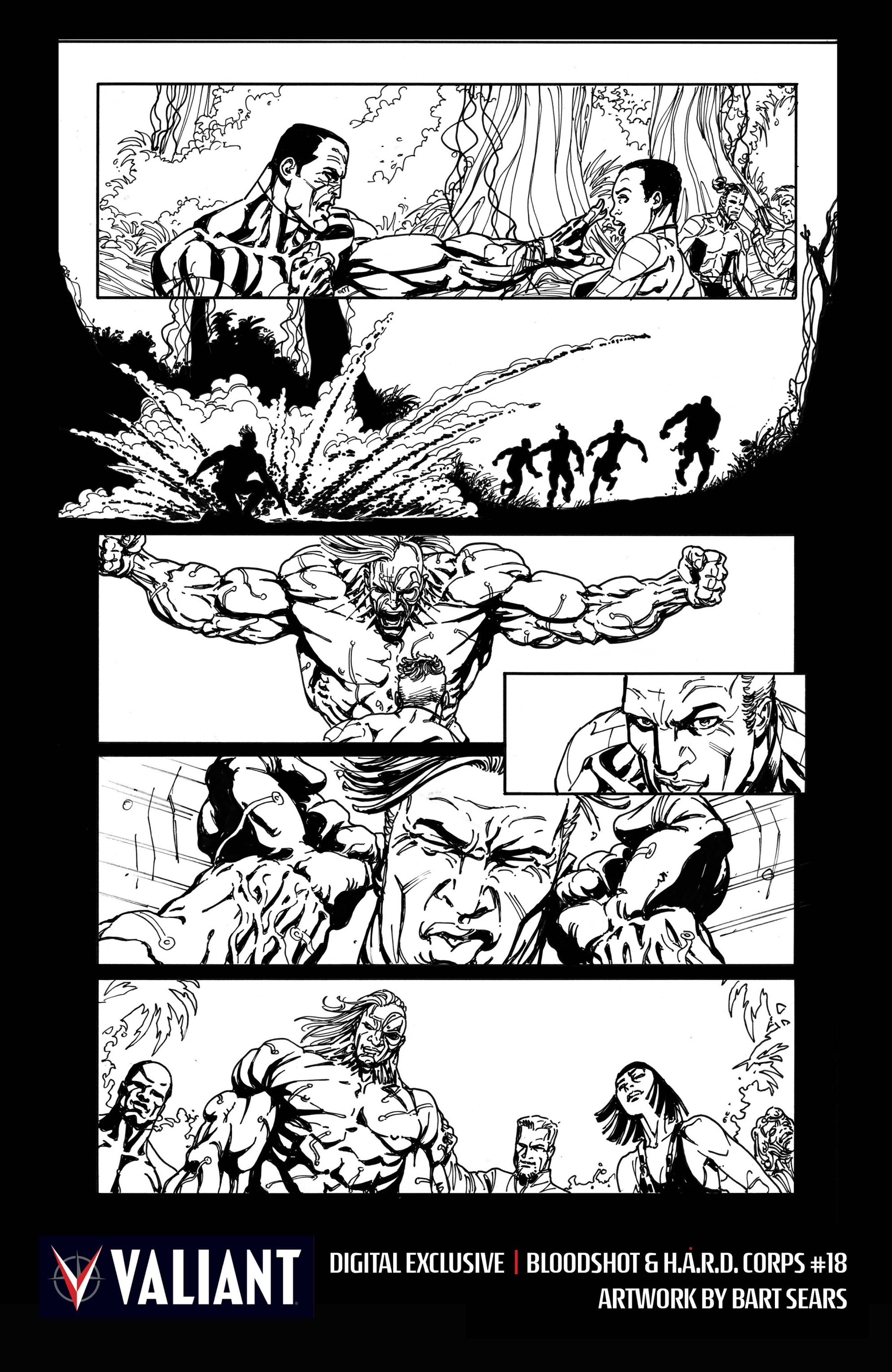 Read online Bloodshot and H.A.R.D.Corps comic -  Issue #18 - 33