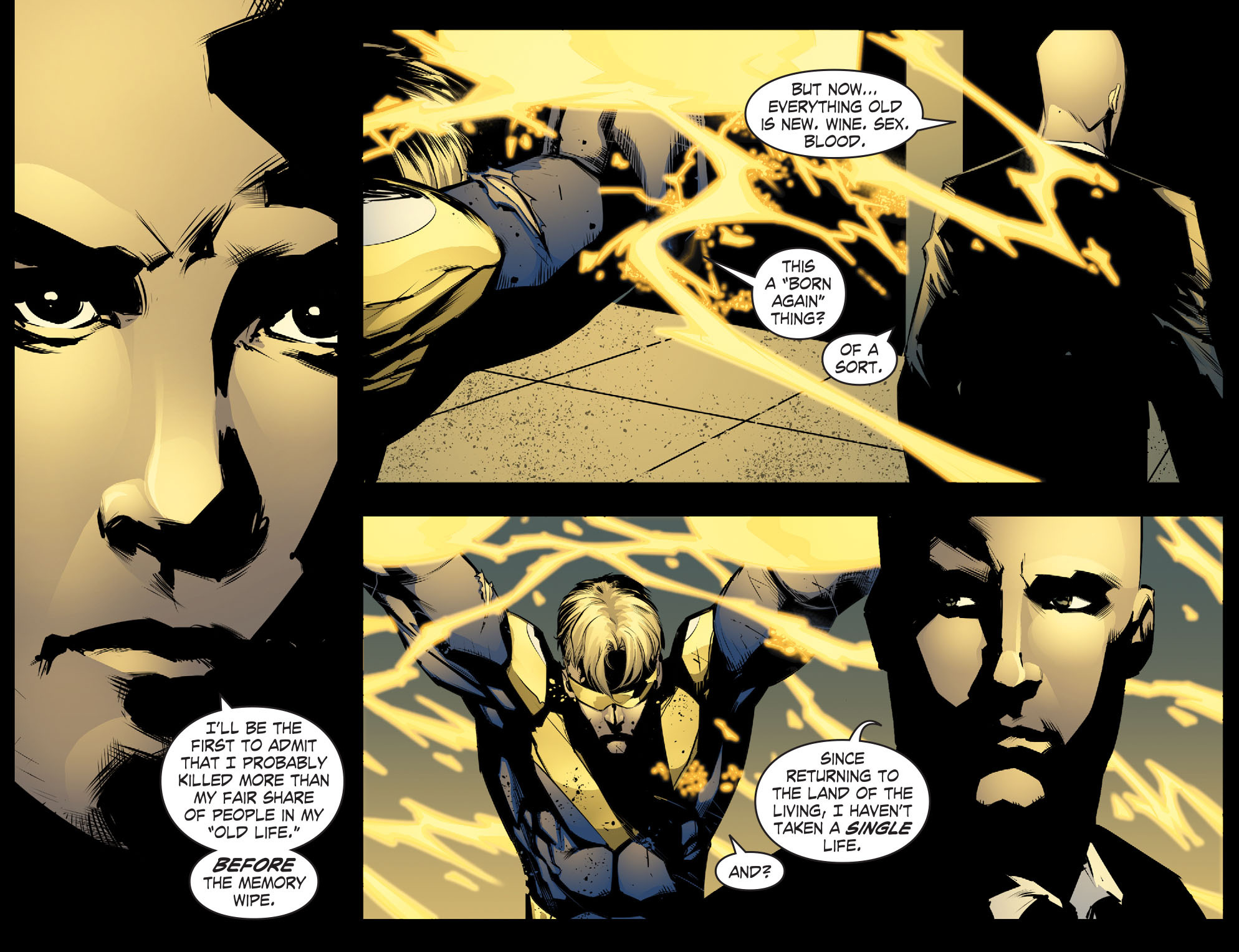 Read online Smallville: Chaos [II] comic -  Issue #8 - 7