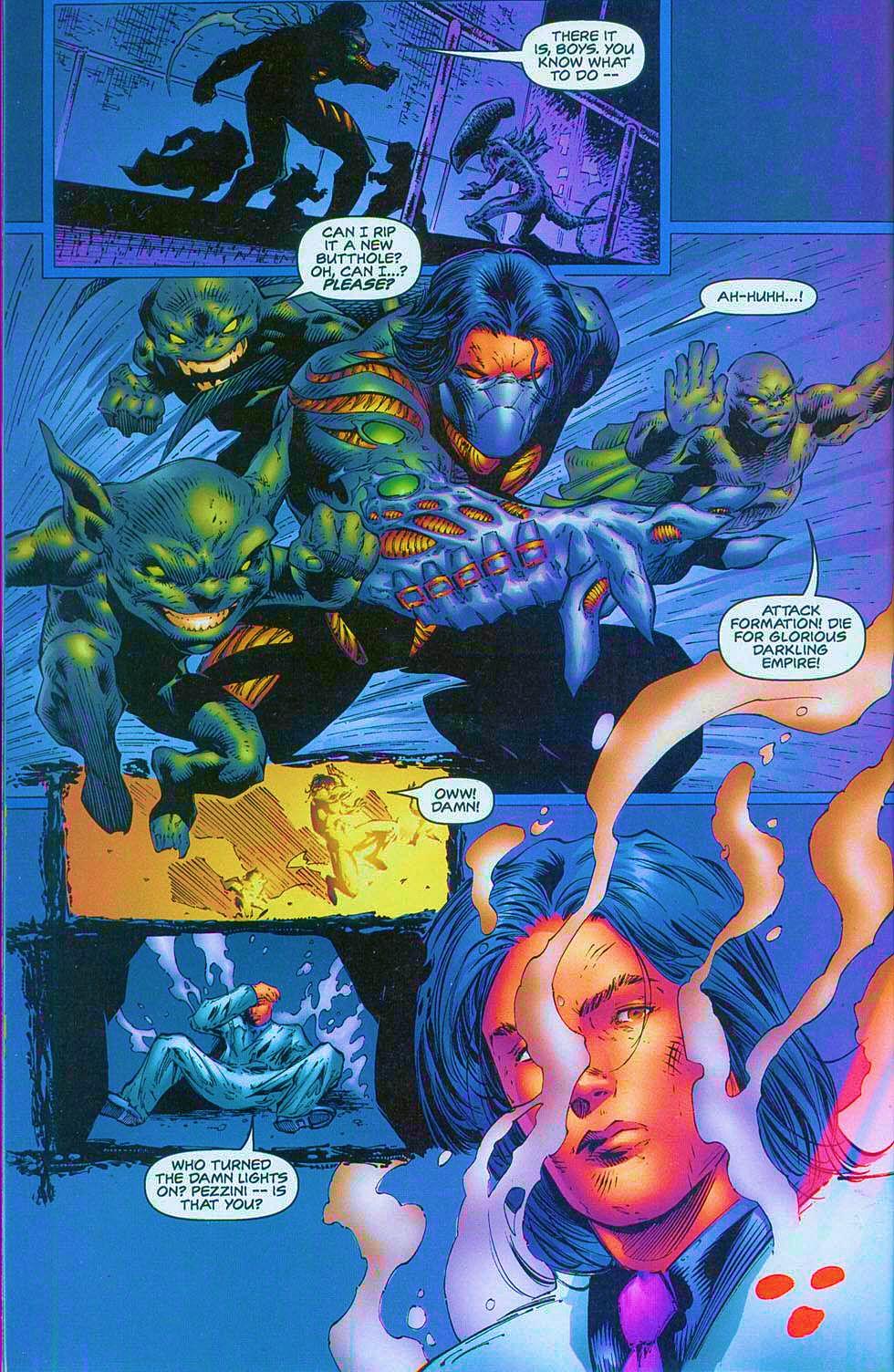 Read online Overkill: Witchblade/Aliens/Darkness/Predator comic -  Issue #1 - 38